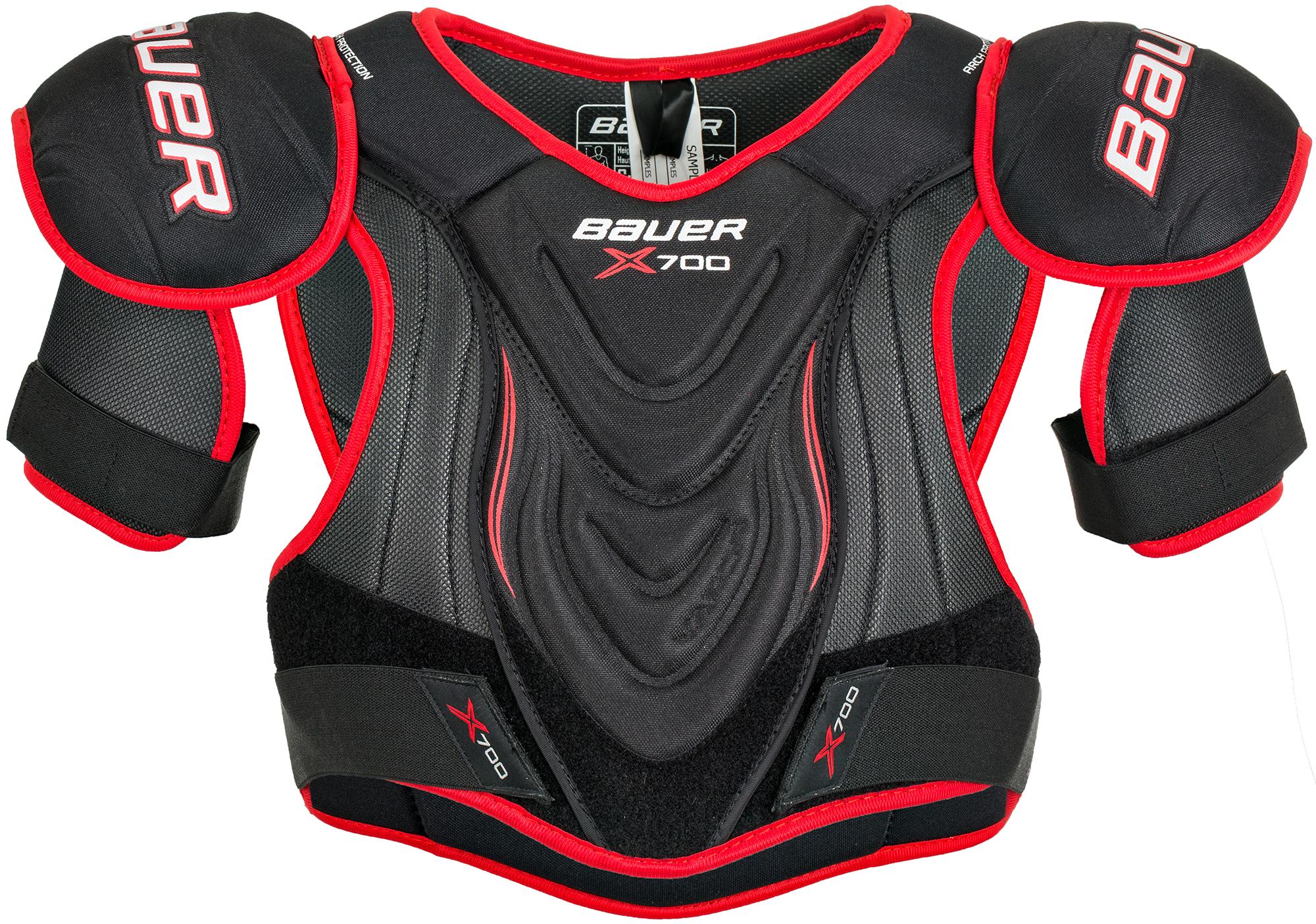 Bauer Нагрудник хоккейный юниорский Bauer VAPOR X700, размер 36-38 bauer bauer s17 vapor x500 взрослые размер 48
