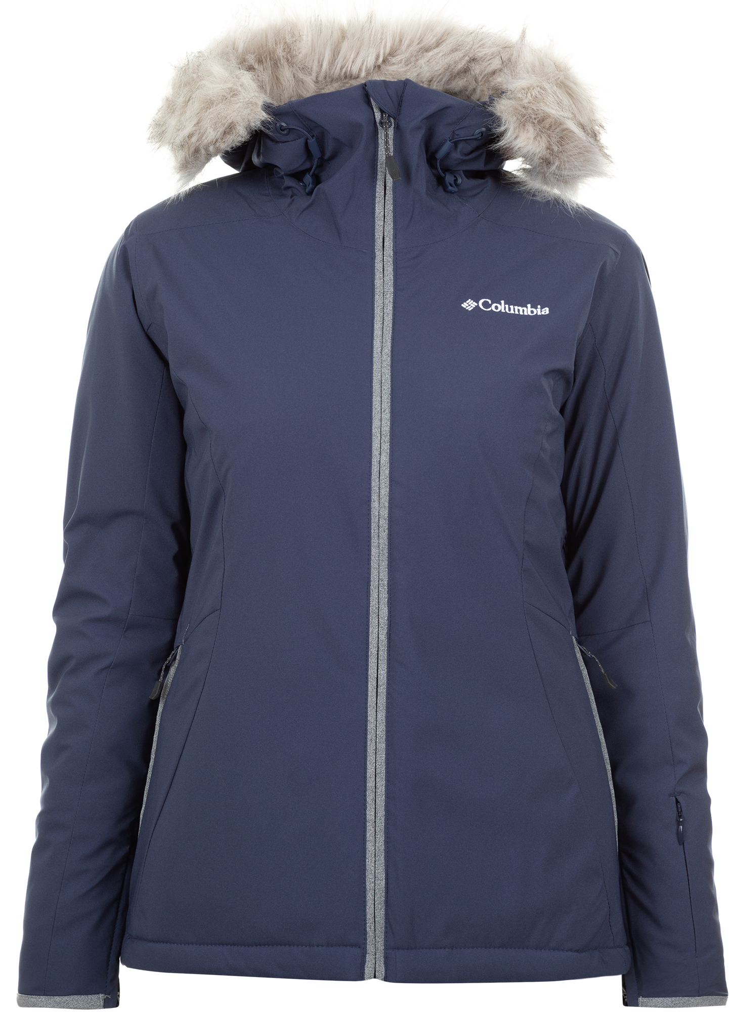 Columbia Куртка утепленная женская Columbia Alpine Slide, размер 46 цена и фото