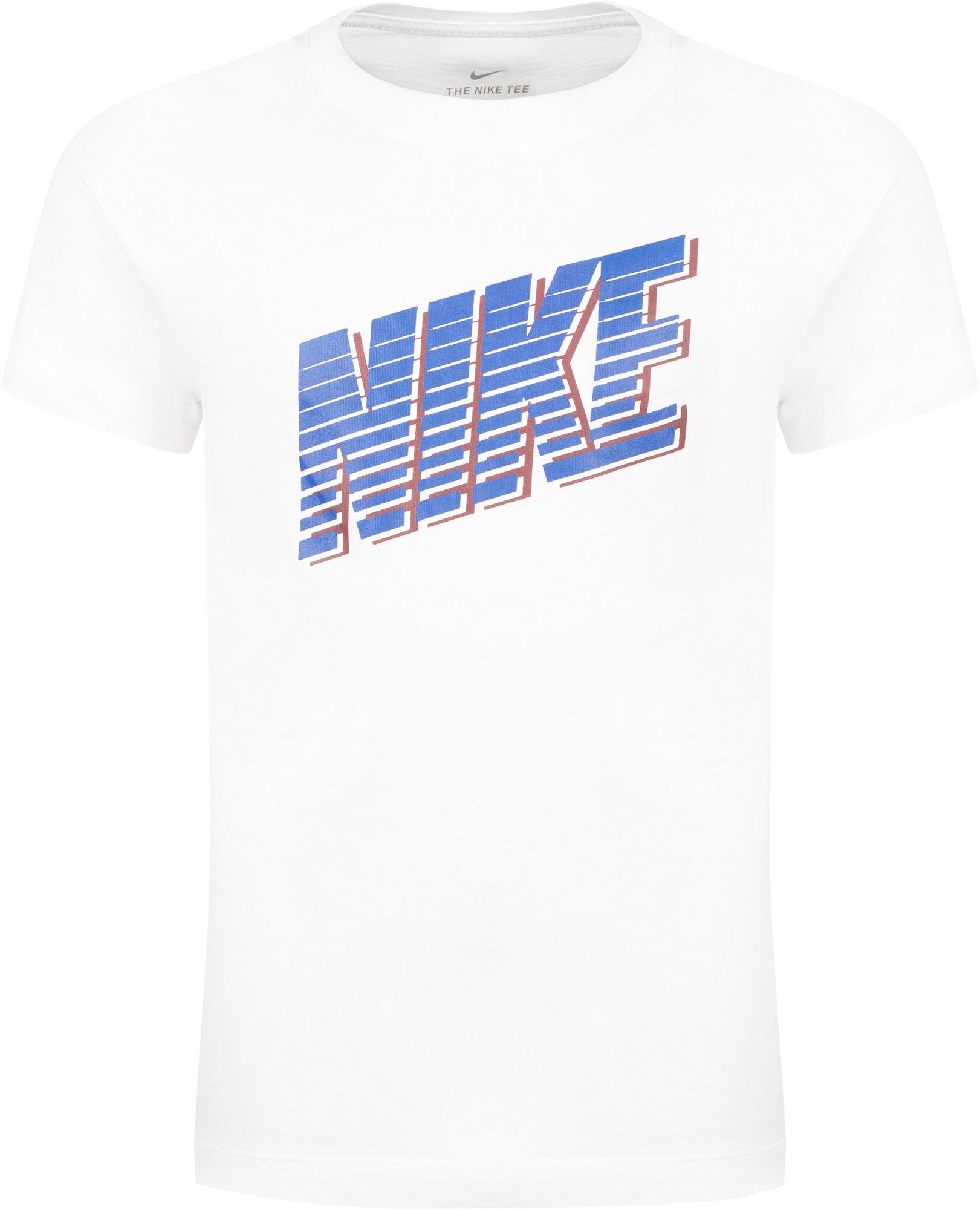 Nike Футболка для мальчиков Nike Sportswear, размер 137-147 nike футболка для мальчиков nike geo basketball