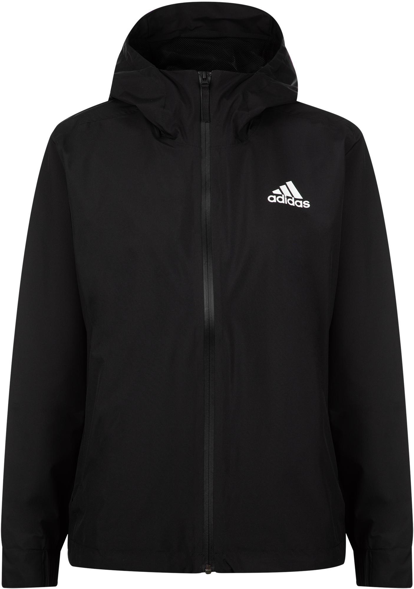 цены Adidas Ветровка женская Adidas 3-Stripes RAIN.RDY, размер 40
