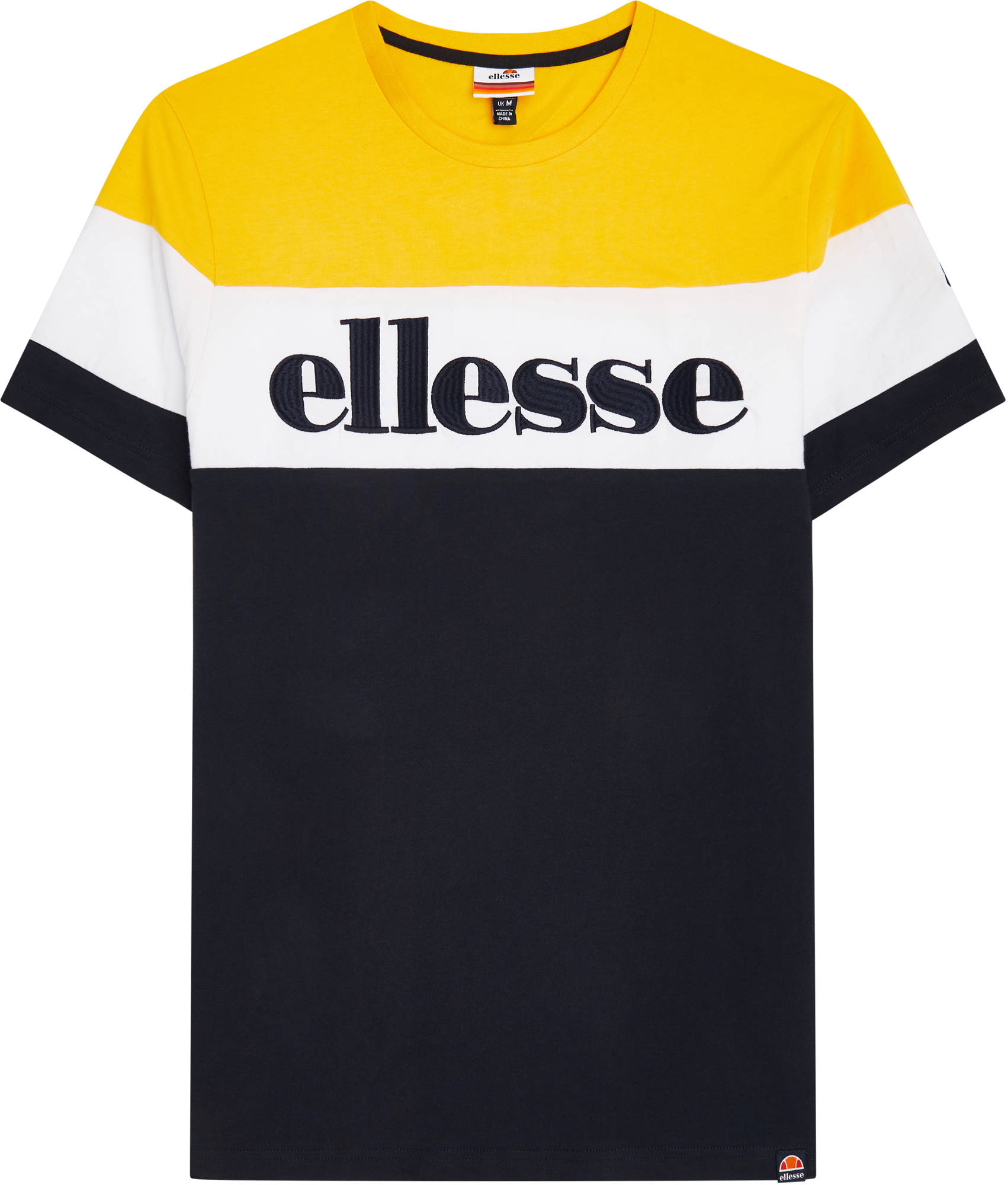 ELLESSE Футболка мужская Ellesse Punto, размер 52-54 ellesse олимпийка мужская ellesse caprini размер 52