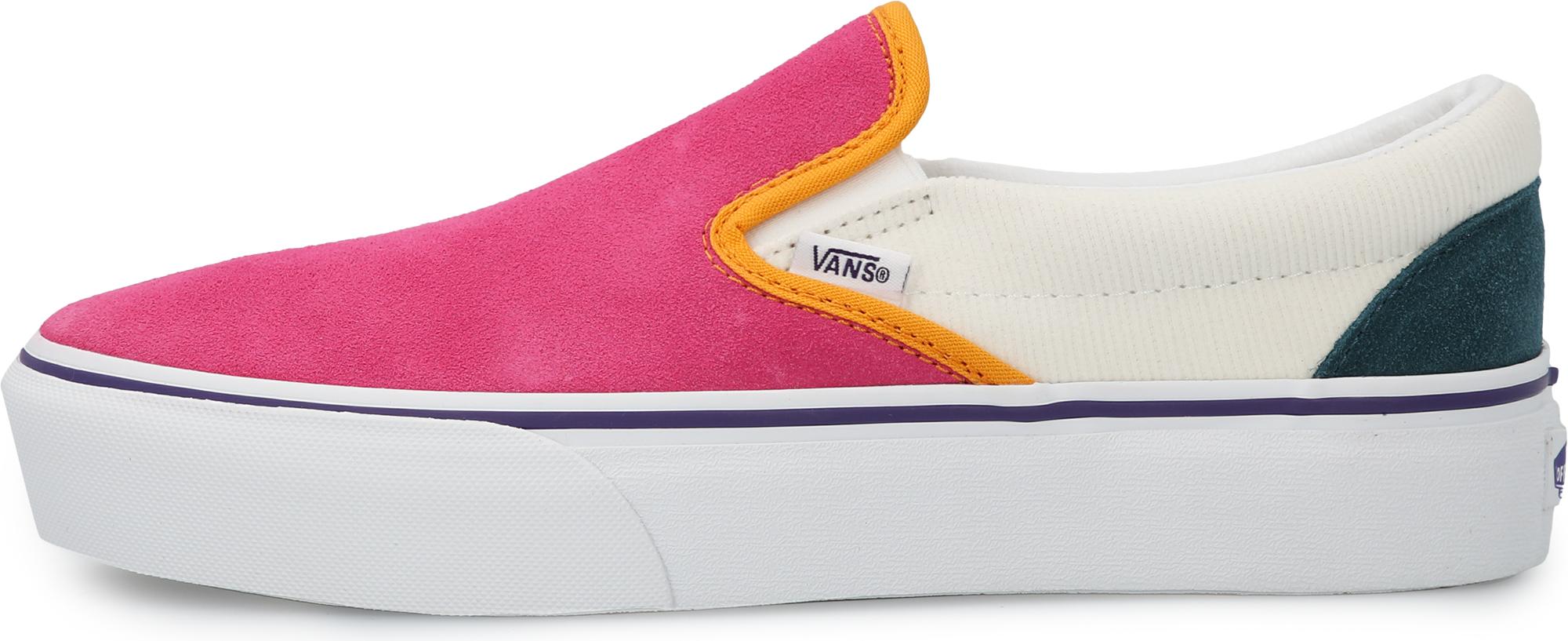 цена Vans Кеды женские Vans Classic Slip-On Platform, размер 36 онлайн в 2017 году