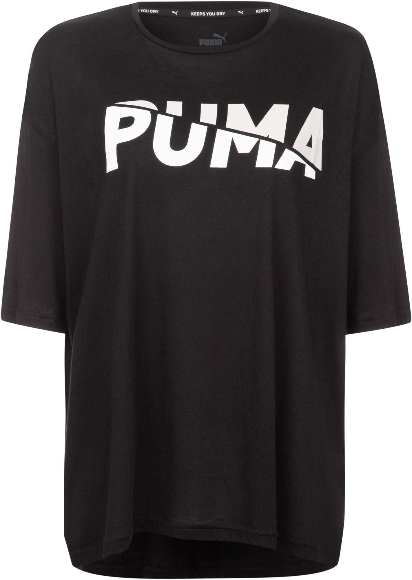 Puma Футболка женская Puma Modern Sports Fashion Tee, размер 46-48 майка женская puma mesh it up layer tank цвет черный 51641701 размер xxl 50 52