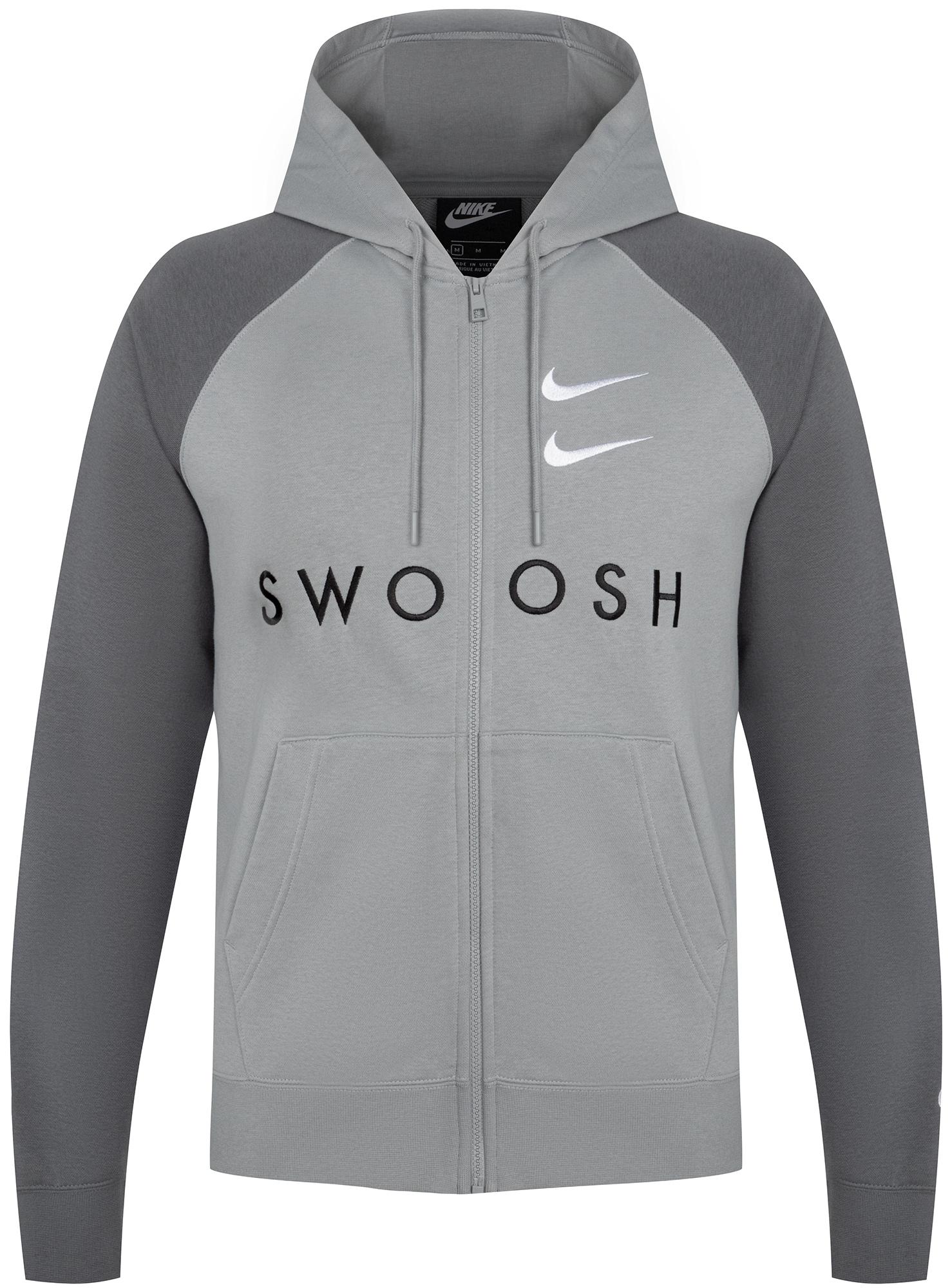 цена Nike Толстовка мужская Nike Sportswear Swoosh, размер 50-52 онлайн в 2017 году
