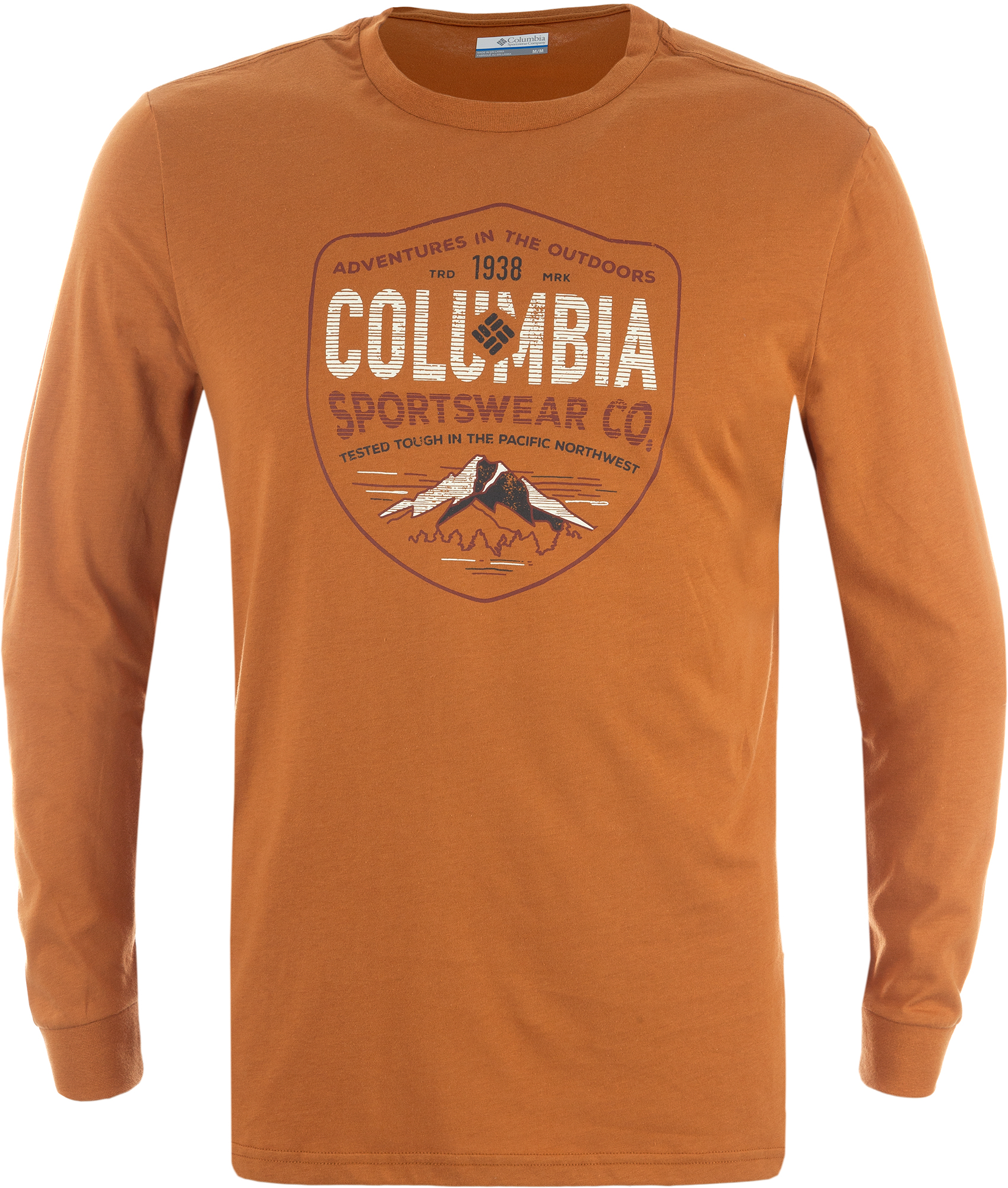 Columbia Футболка с длинным рукавом мужская Columbia Rugged Shield columbia рубашка с длинным рукавом мужская columbia boulder ridge
