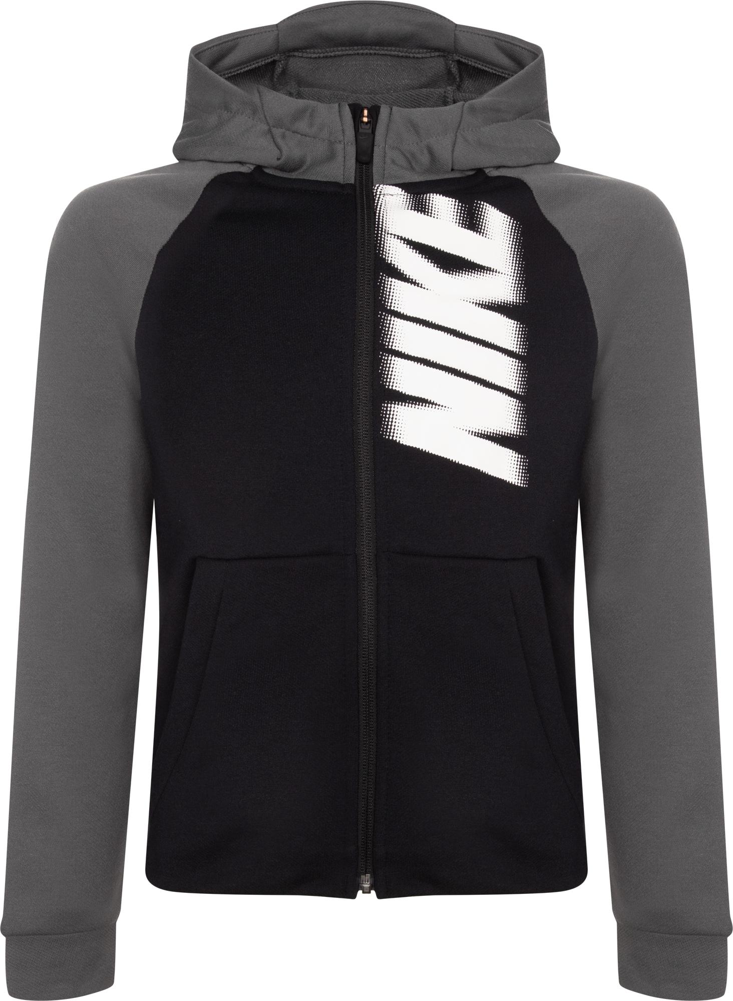 цена на Nike Толстовка для мальчиков Nike Dri-FIT, размер 128-137