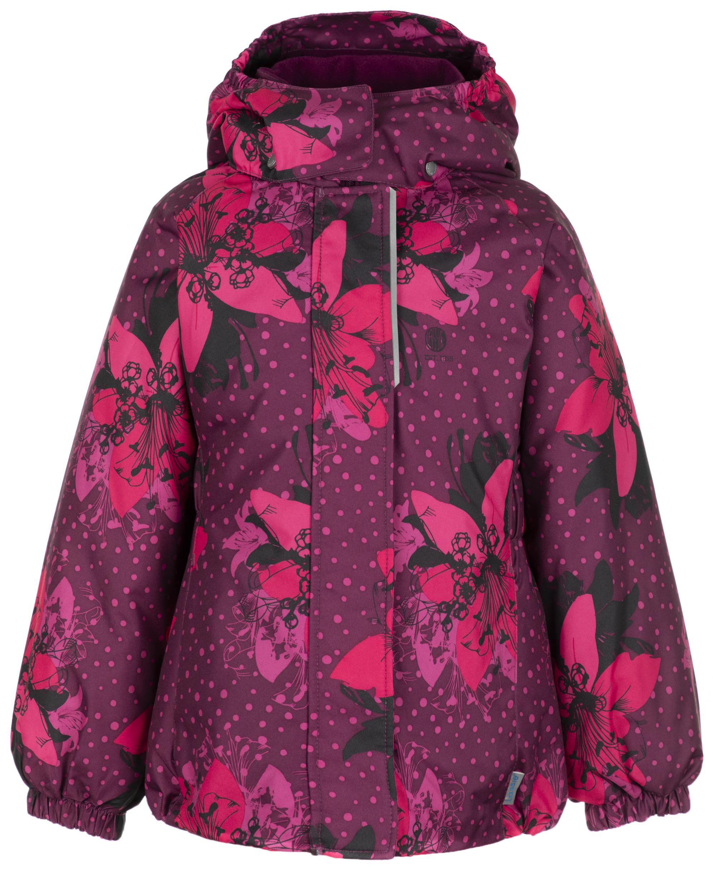 Lassie Куртка утепленная для девочек LASSIE Maike, размер 128