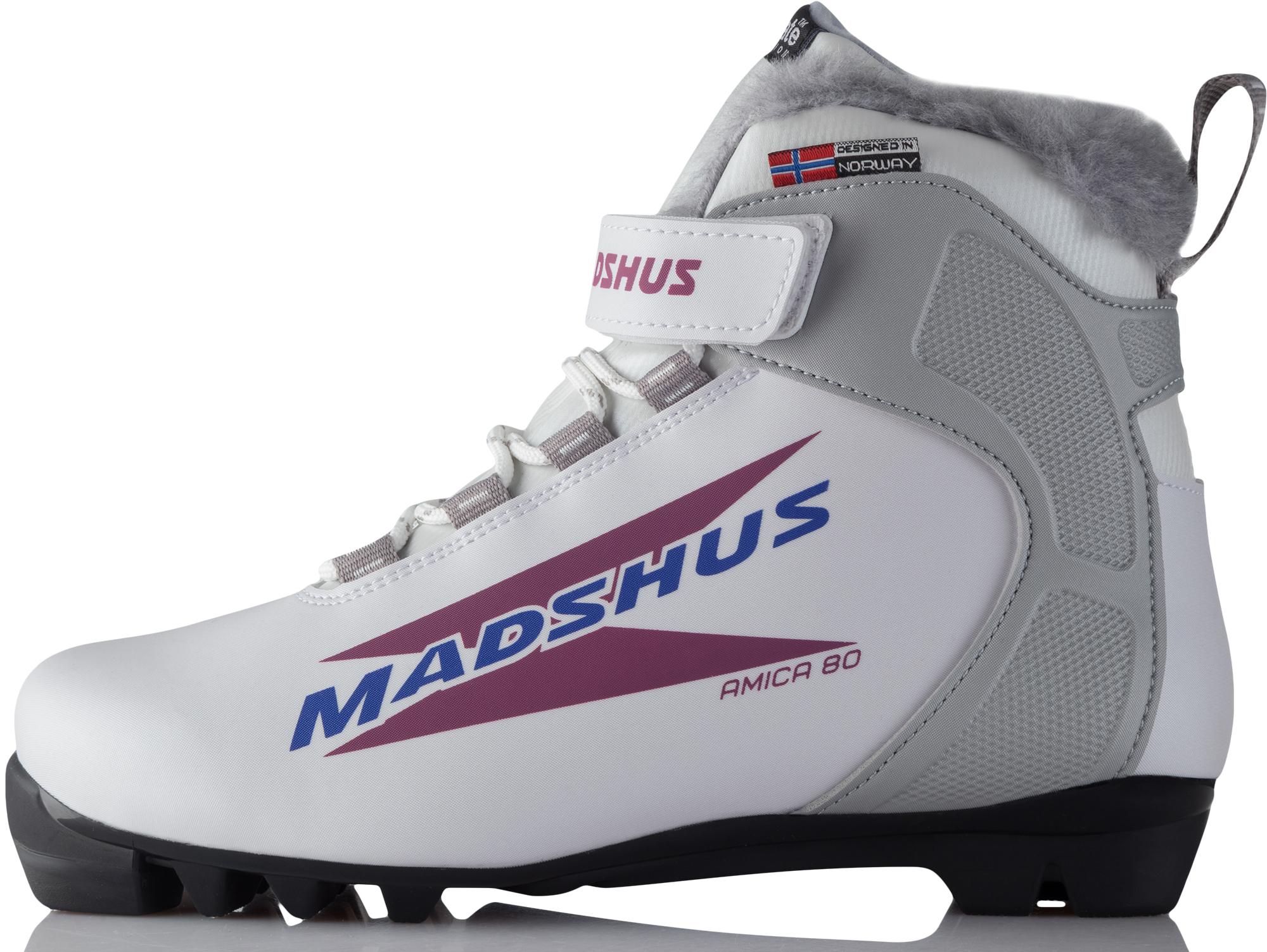 купить Madshus Ботинки для беговых лыж женские Madshus Amica 80 дешево