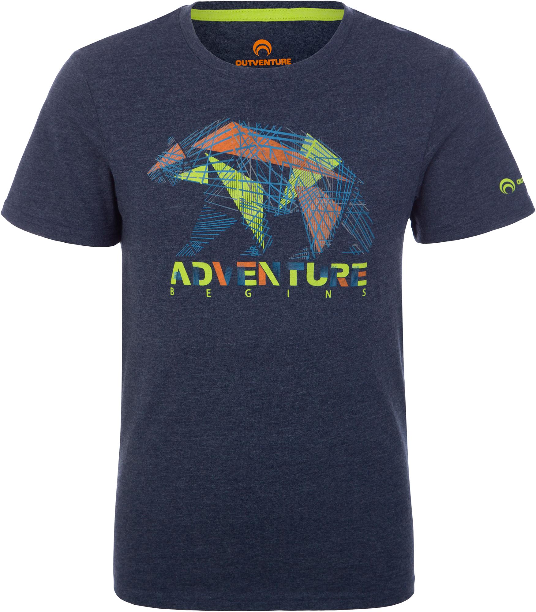 Outventure Футболка для мальчиков Outventure, размер 170