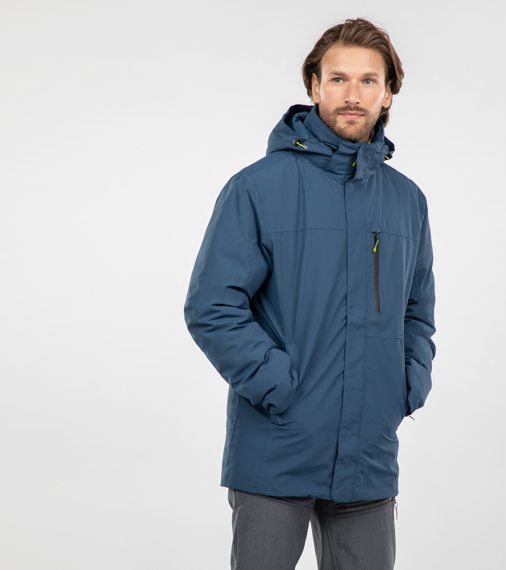 IcePeak Куртка утепленная мужская IcePeak Piedmont, размер 56 цены онлайн