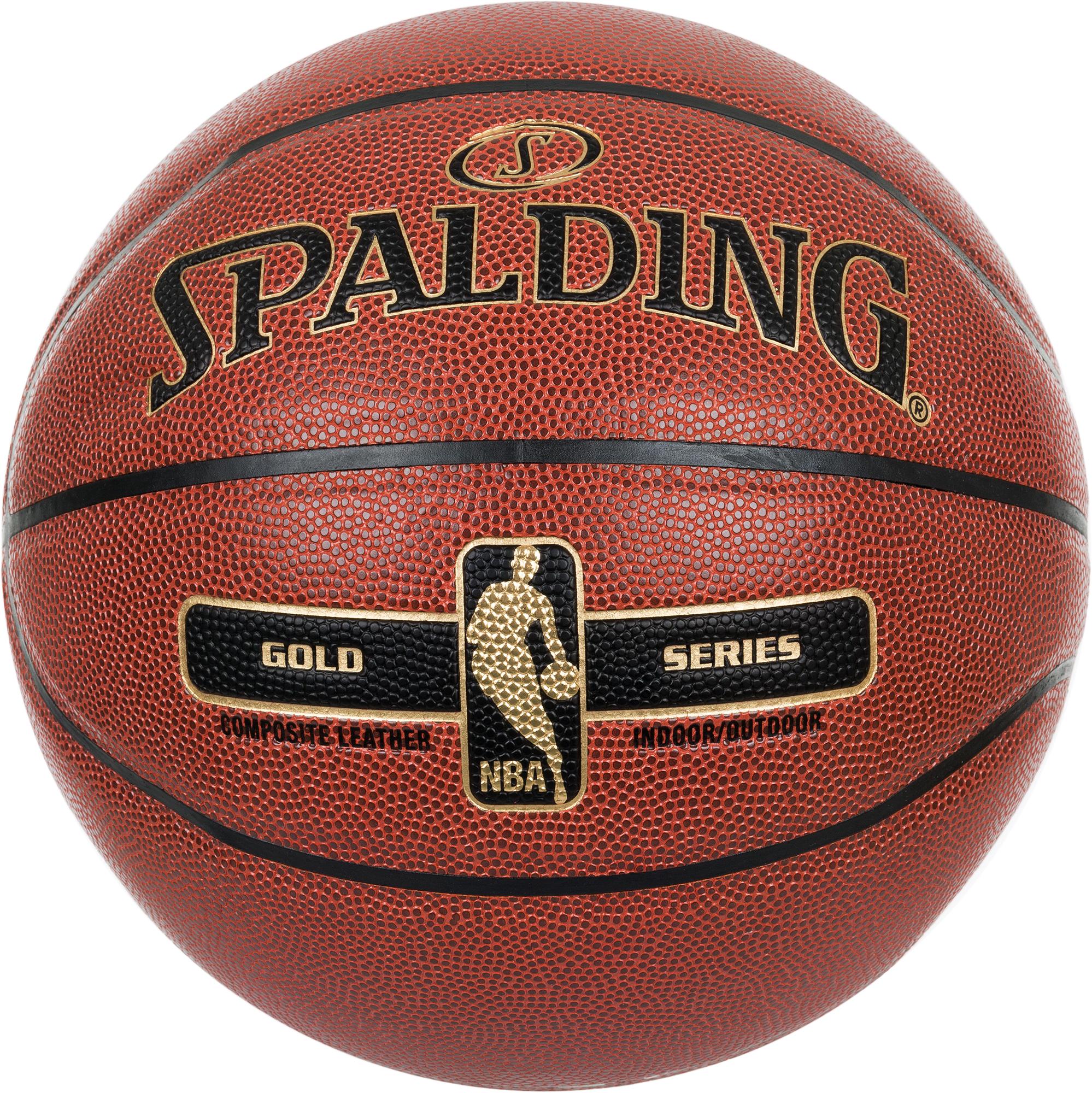 Spalding Мяч баскетбольный Spalding NBA Gold Series стоимость
