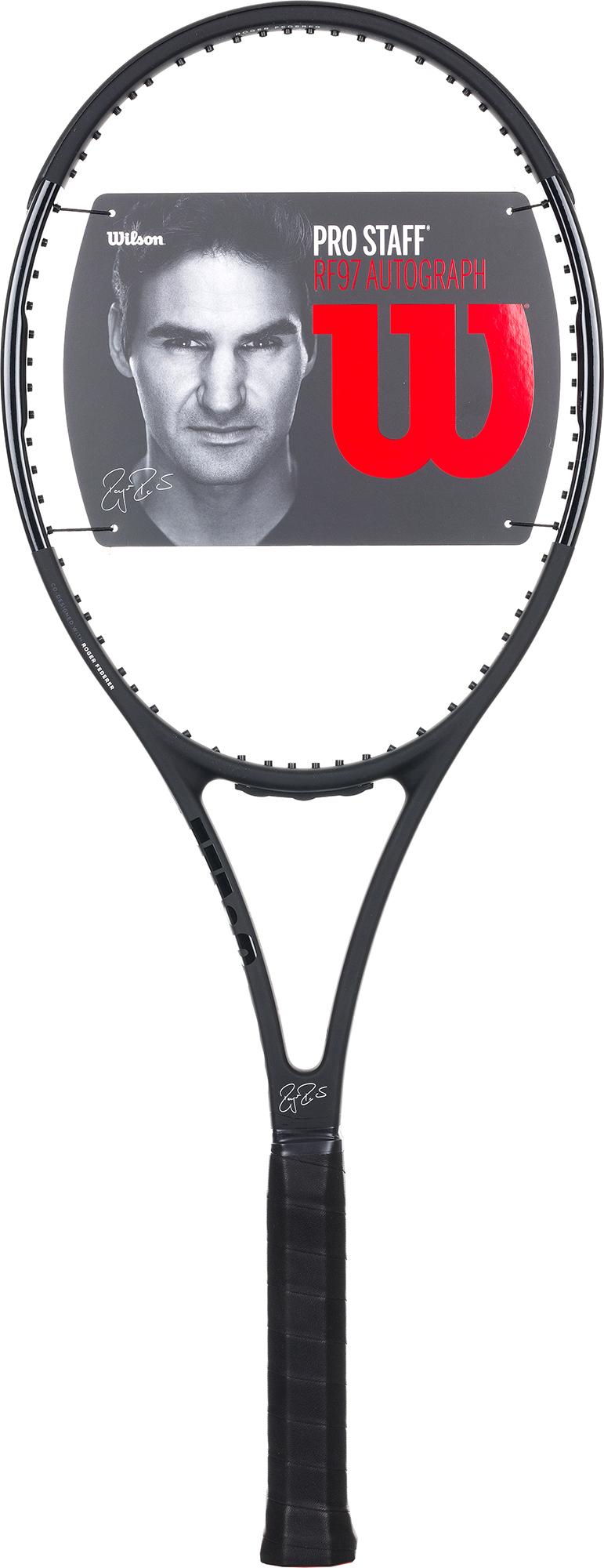 Wilson Ракетка для большого тенниса Wilson Pro Staff 97 Autograph, размер 3 wilson ракетка для большого тенниса детская wilson roger federer 23 размер без размера