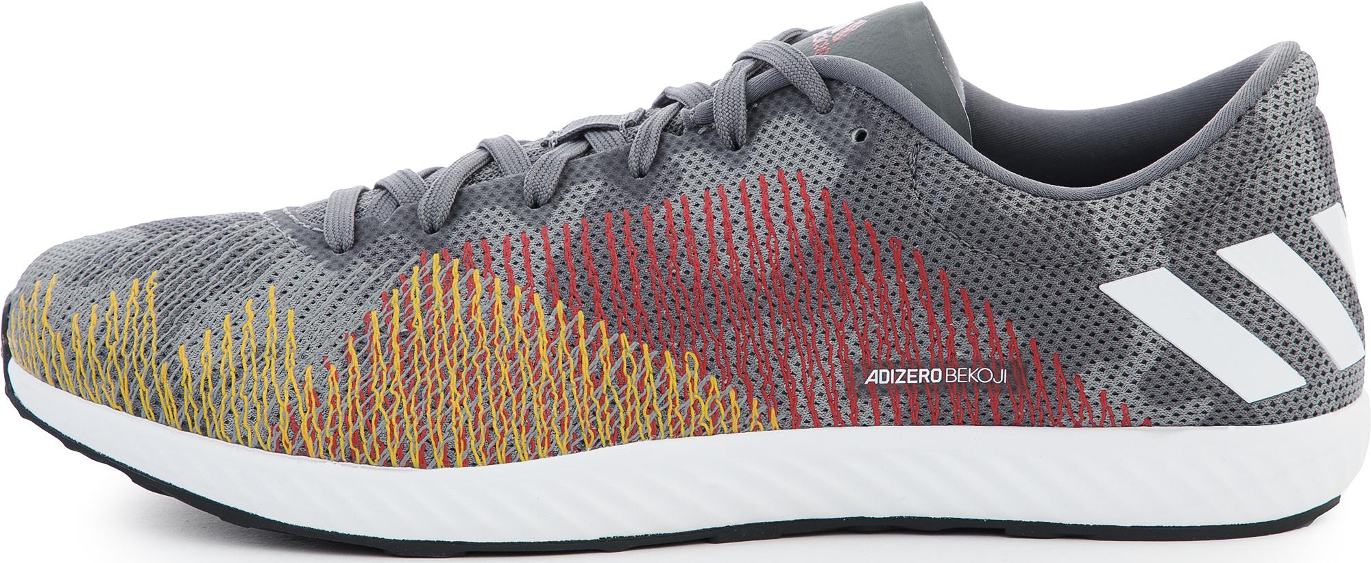 цена Adidas Кроссовки мужские Adidas Adizero Bekoji, размер 46 онлайн в 2017 году