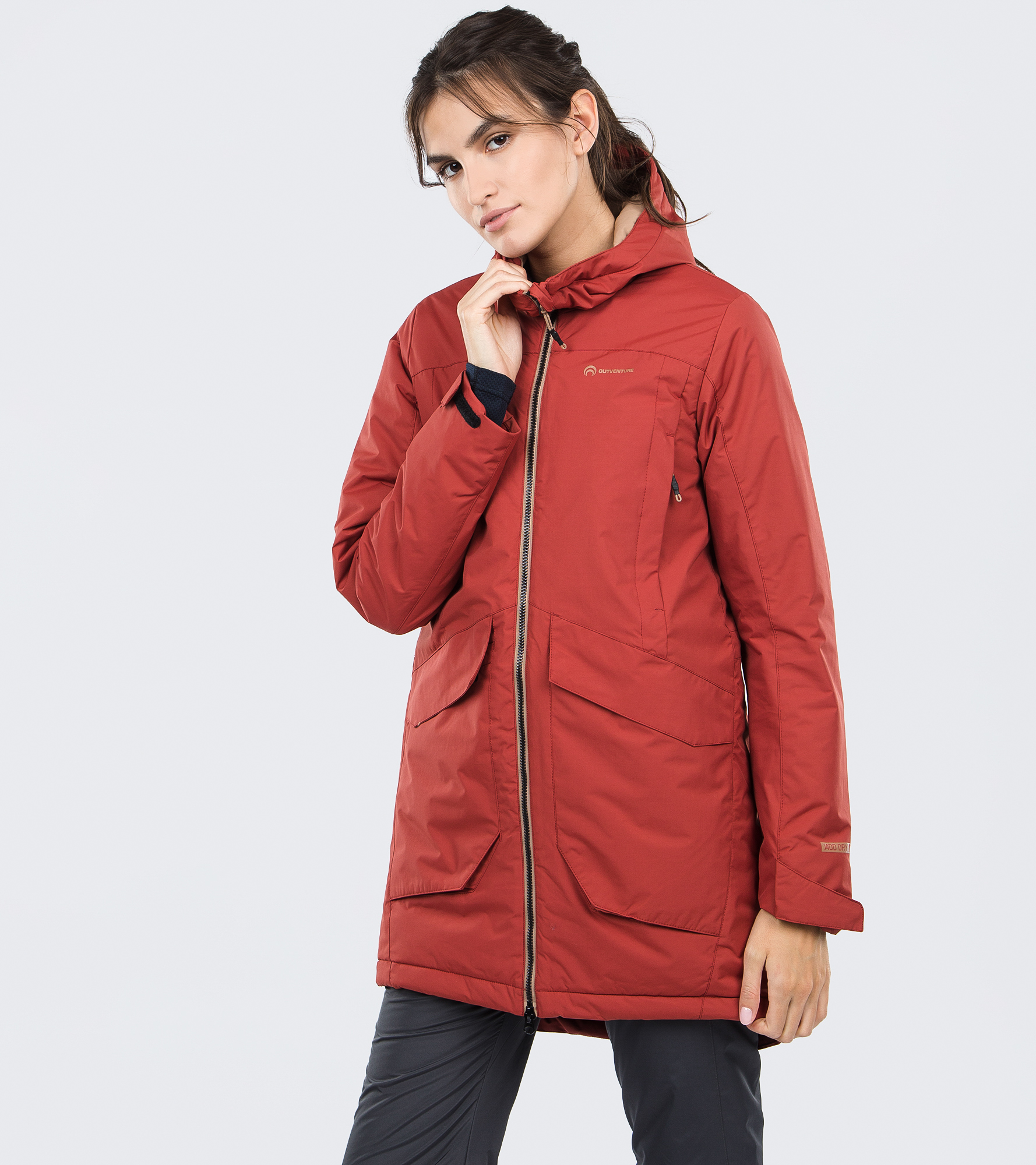 Outventure Куртка утепленная женская Outventure, размер 54 outventure рубашка женская outventure