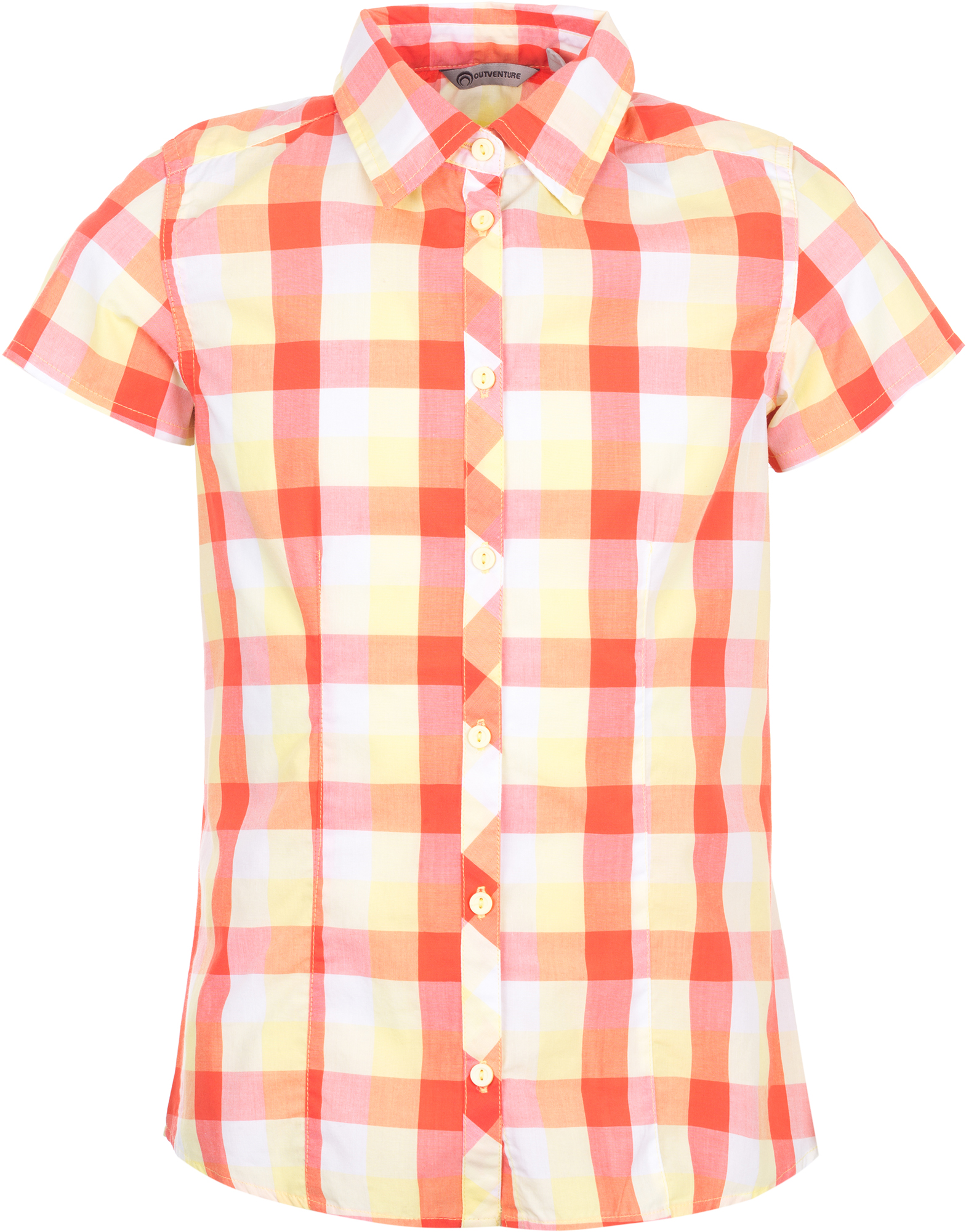 Outventure Рубашка для девочек Outventure, размер 164