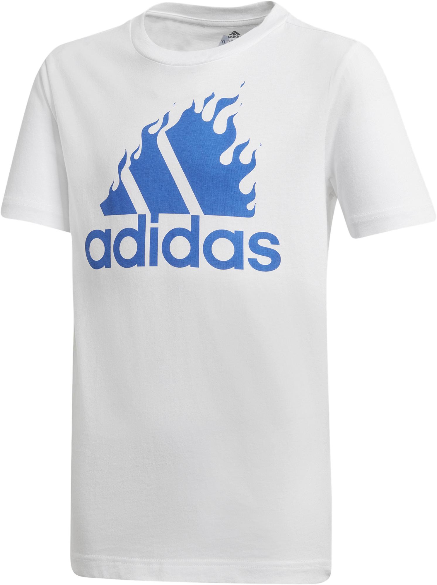 Adidas Футболка для мальчиков adidas Badge of Sport Graph, размер 176