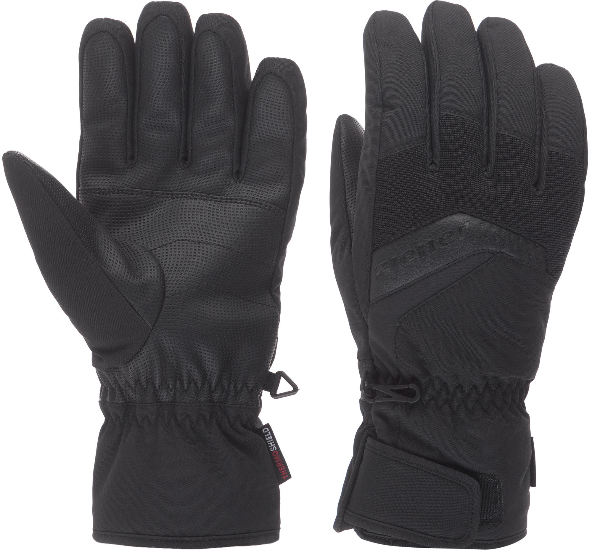 Ziener Перчатки мужские Ziener Gabino, размер 10 ziener перчатки мужские ziener gliss gtx размер 9