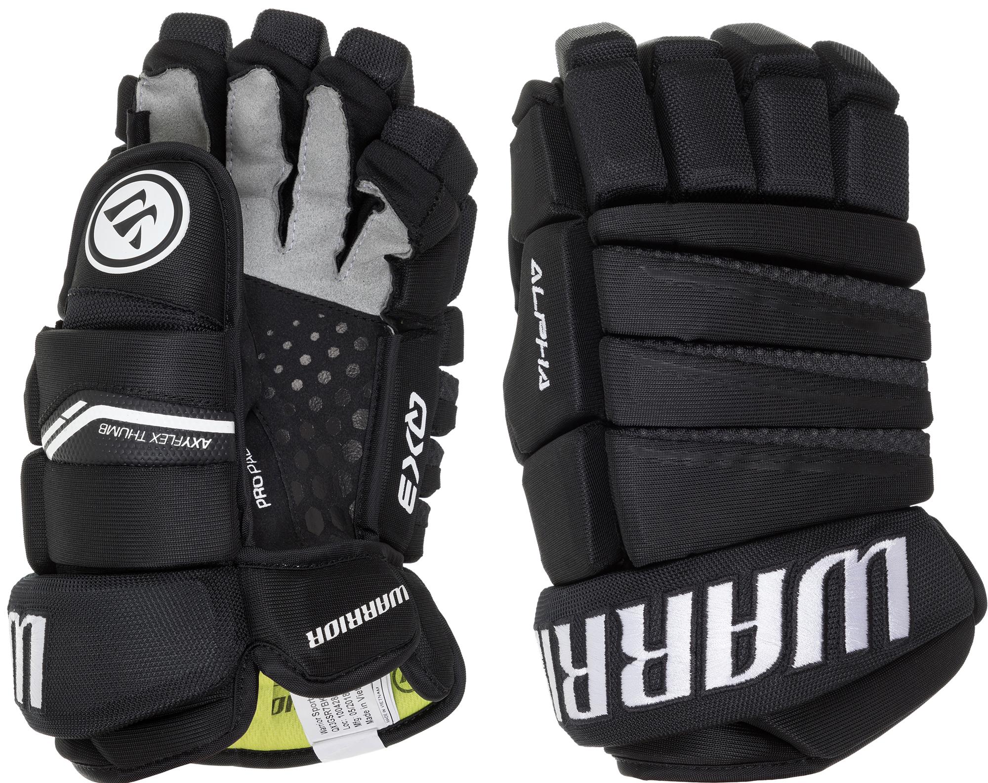 Warrior Перчатки хоккейные WARRIOR Alpha QX3 цена