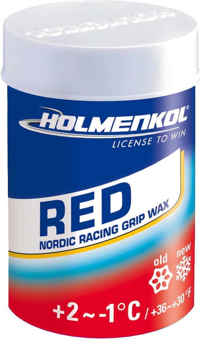 Holmenkol Мазь держания для беговых лыж HOLMENKOL GripRed цена