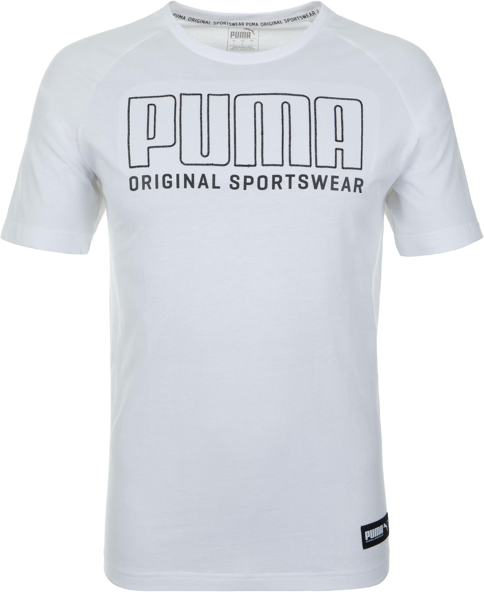 Puma Футболка мужская Puma Athletics, размер 50-52