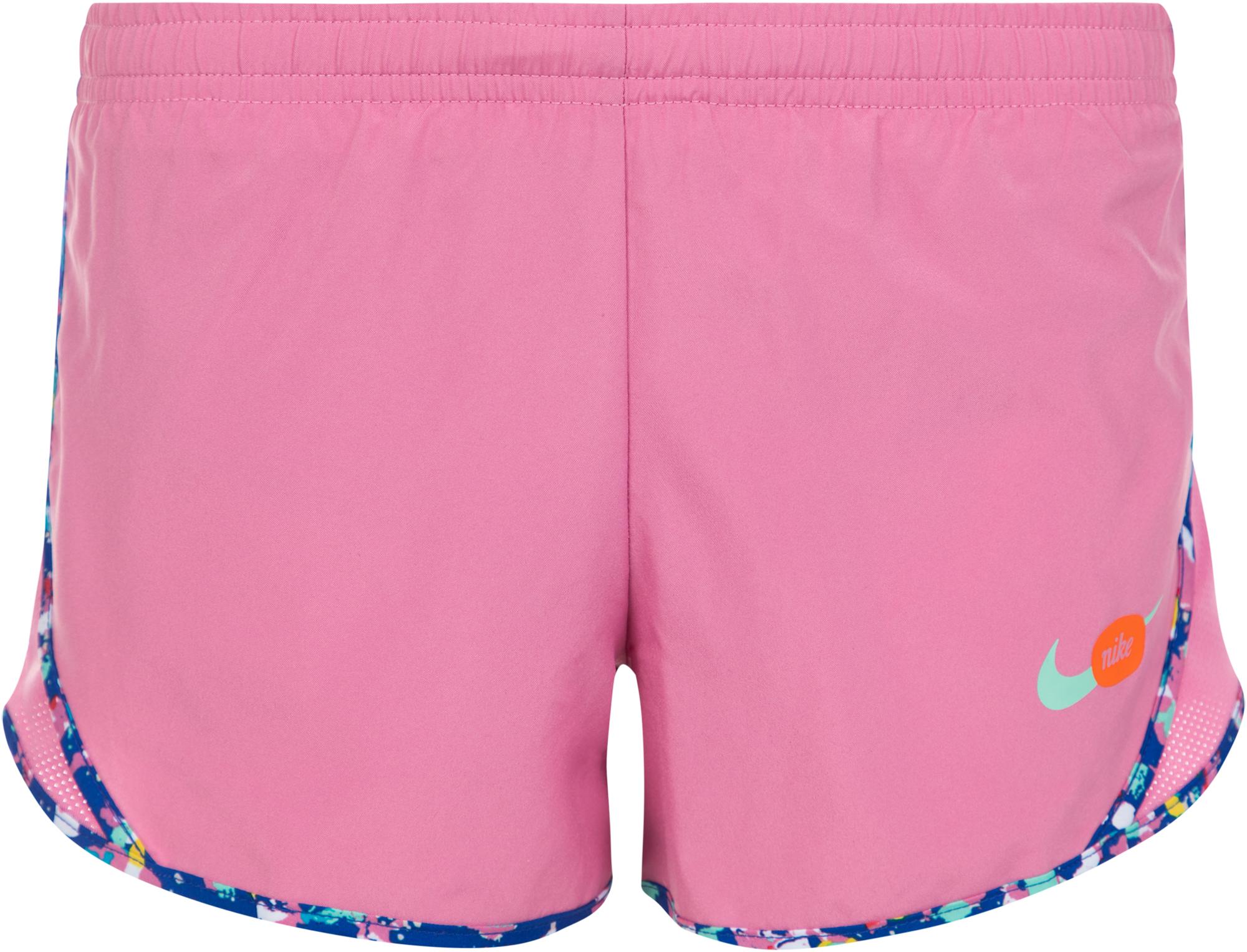 цена на Nike Шорты для девочек Nike Dri-FIT Tempo, размер 156-165