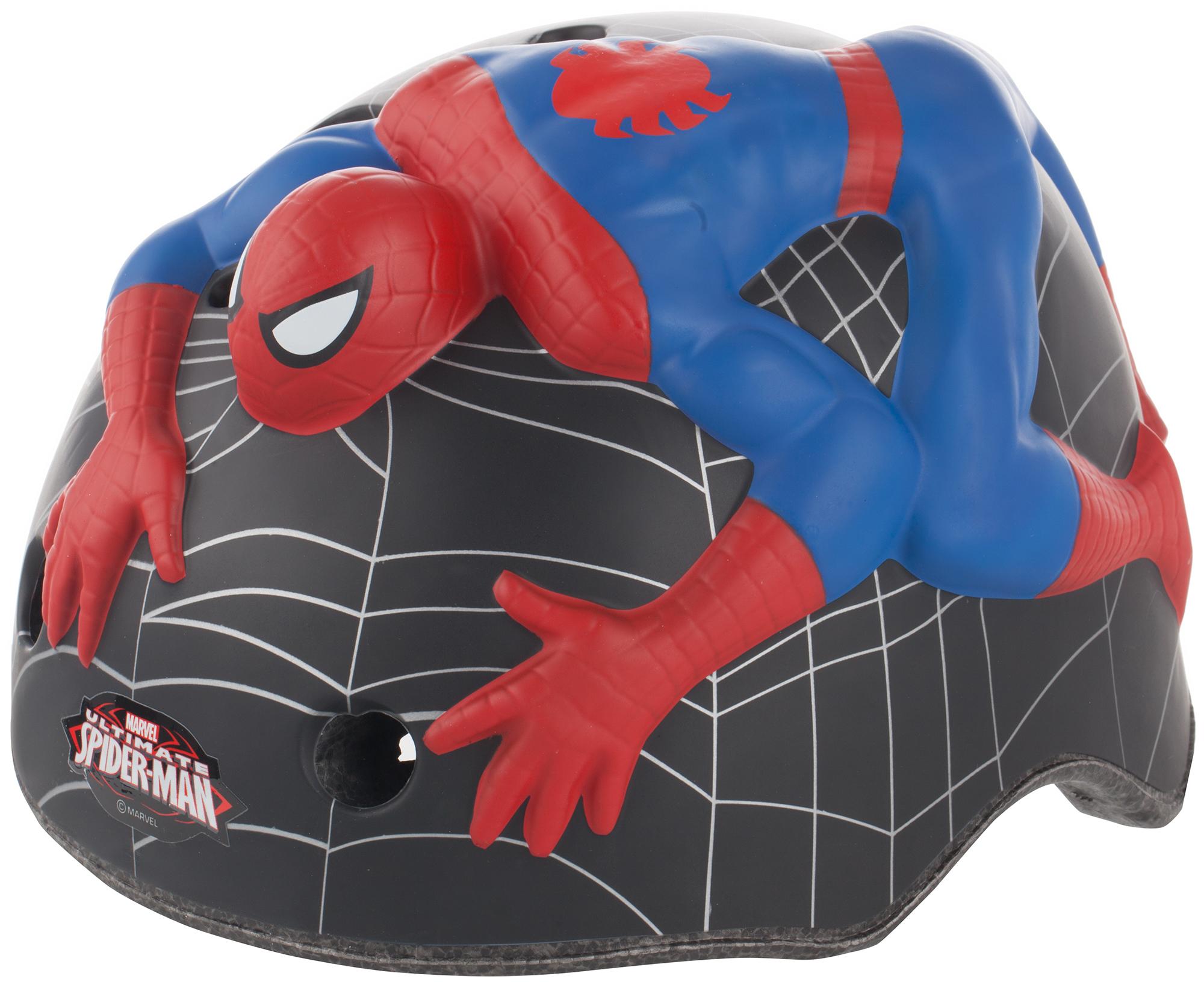 CrazyStuff Шлем велосипедный детский Crazy Stuff Spiderman