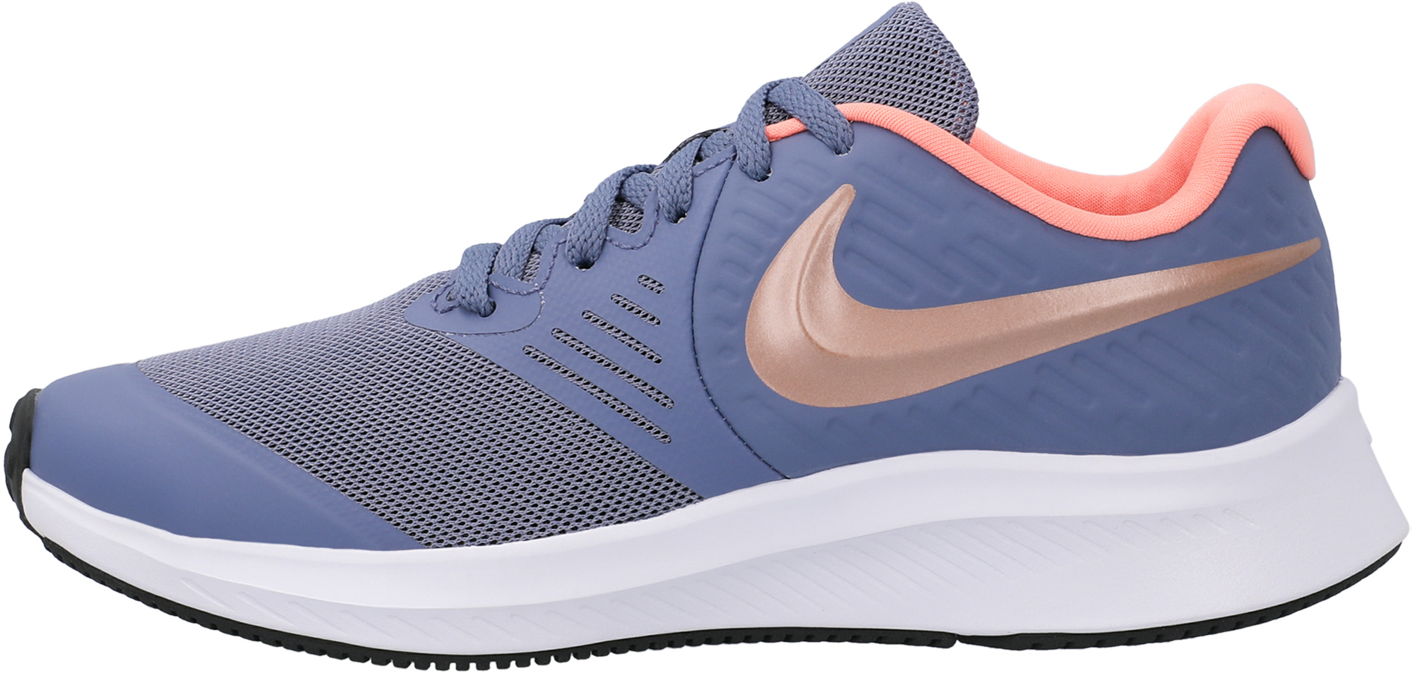 Nike Кроссовки для девочек Nike Star Runner 2 (GS), размер 38 кроссовки nike cortez basic ltr se gs shoe girls aa3043 001