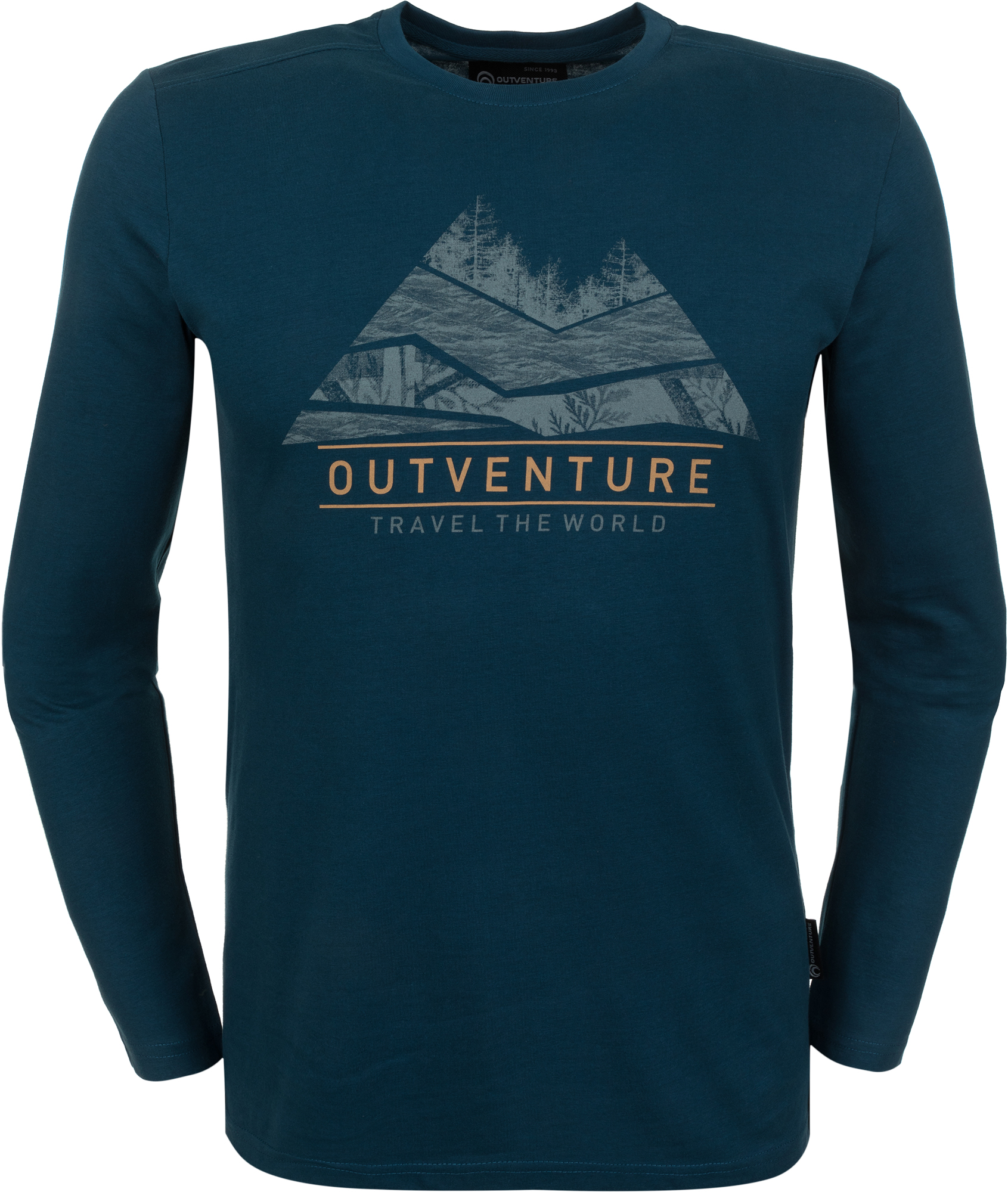 Outventure Футболка с длинным рукавом мужская Outventure, размер 62
