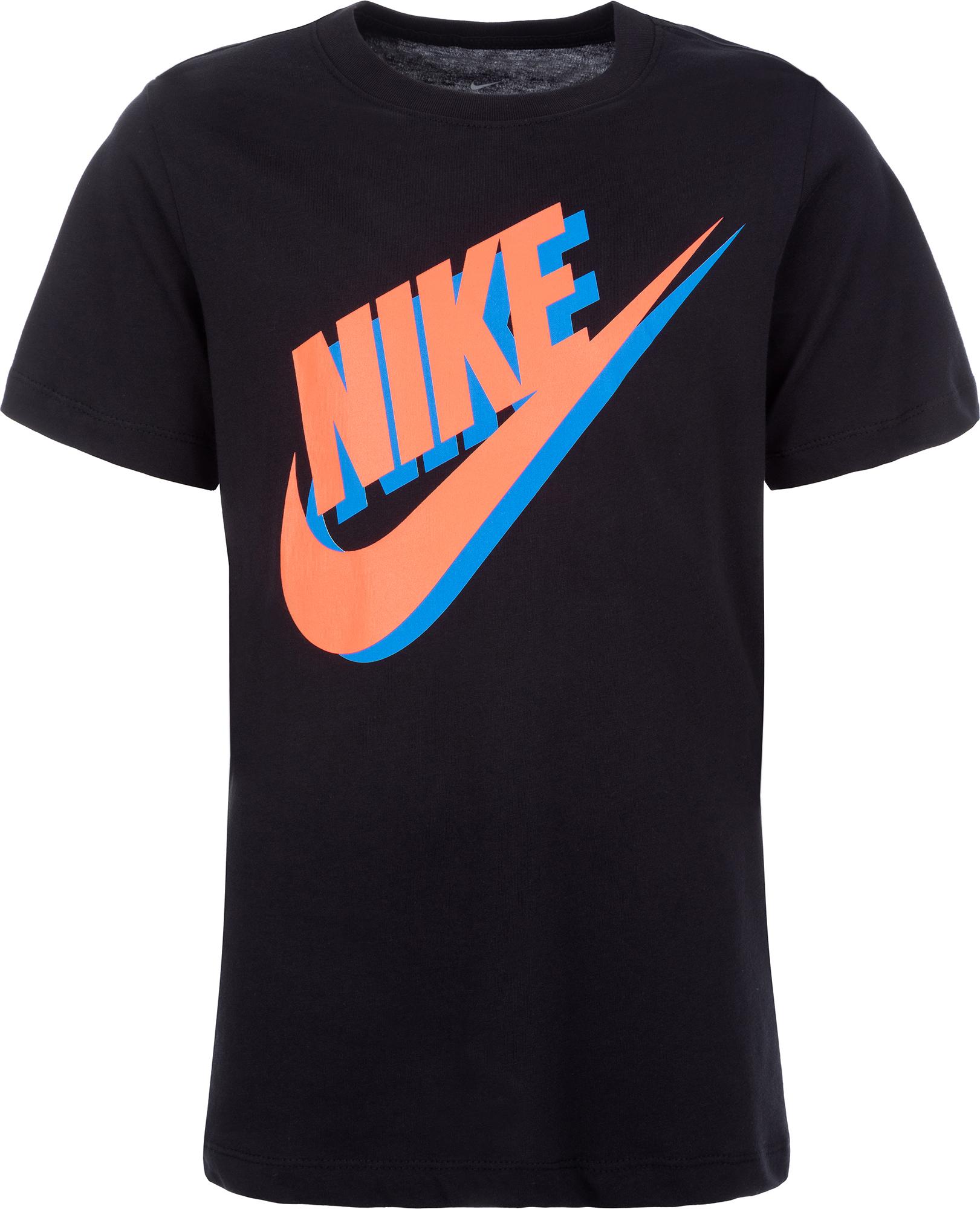 цены на Nike Футболка для мальчиков Nike Futura, размер 158-170 в интернет-магазинах