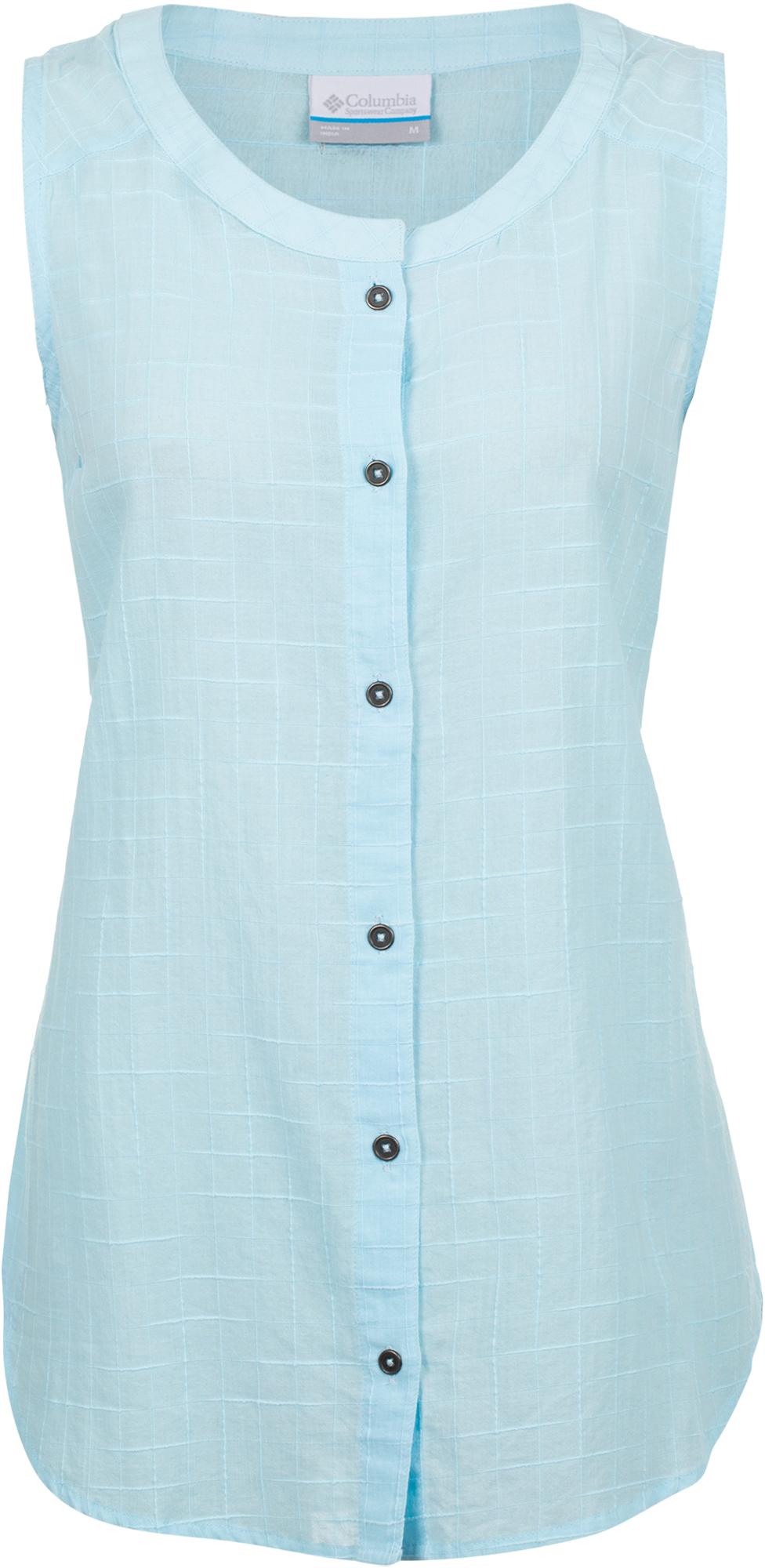 Columbia Рубашка женская Columbia Summer Ease, размер 48 рубашка женская bello belicci цвет темно синий sa1 9 размер xl 48