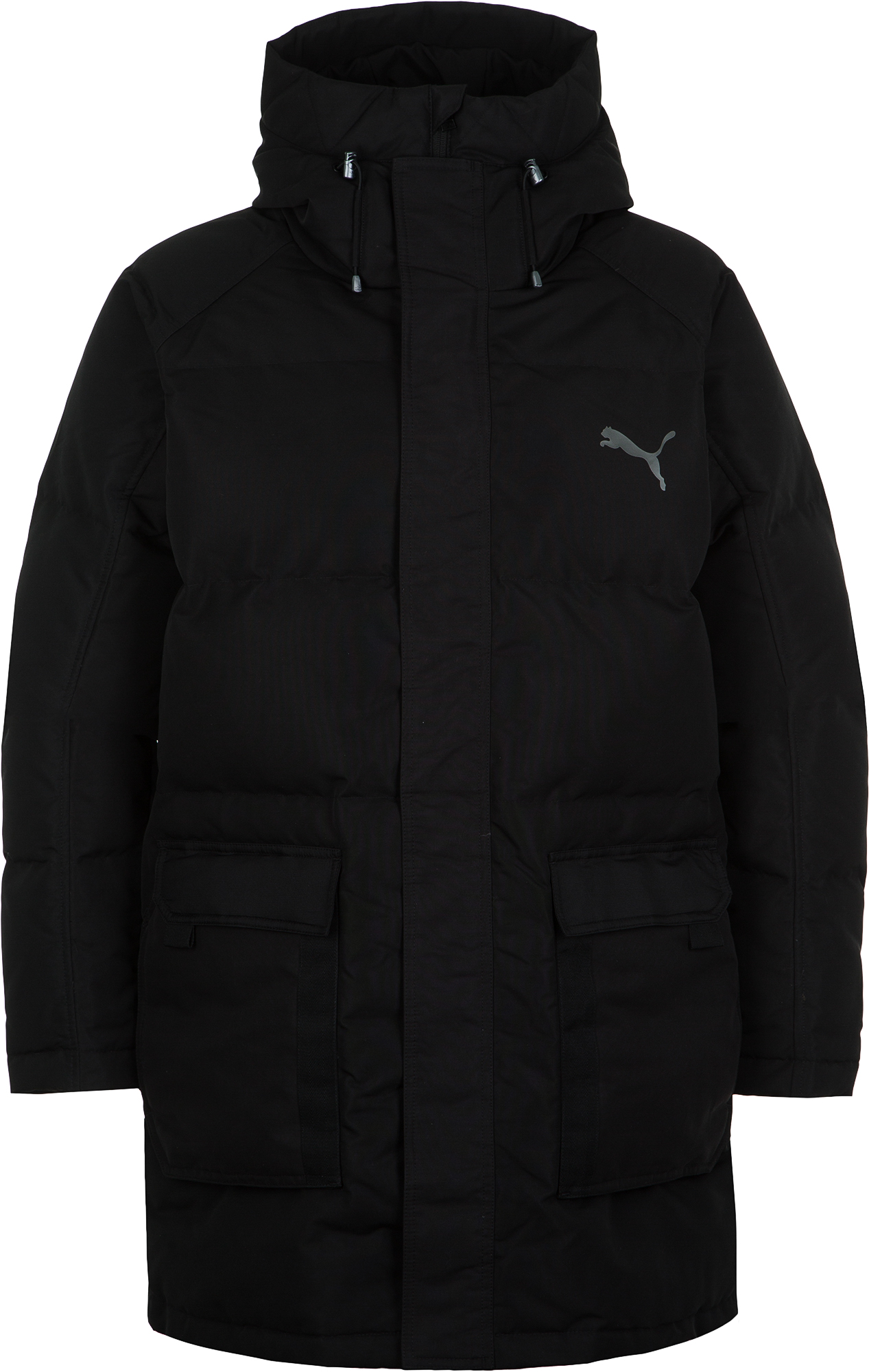 пуховик женский puma 70 30 480 down jacket цвет молочный 85166611 размер m 44 46 Puma Куртка пуховая мужская Puma Oversize 500, размер 46-48