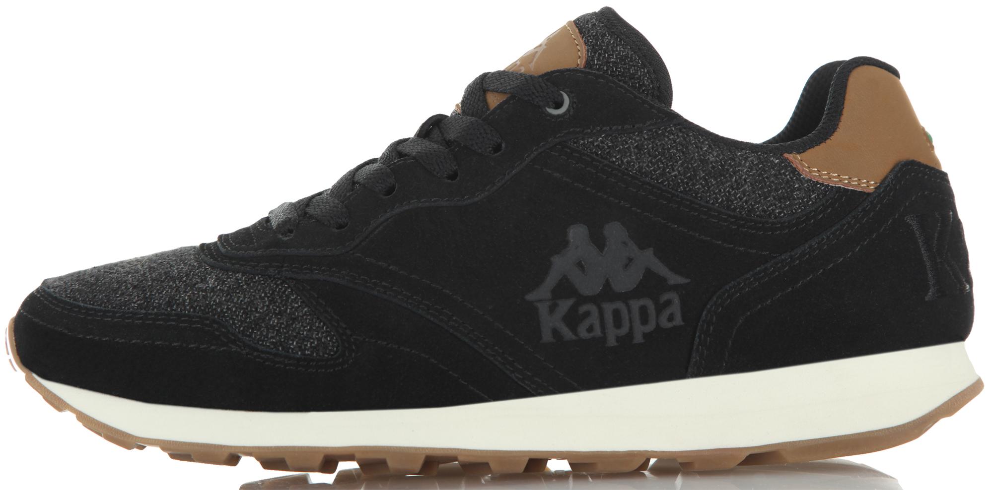 Kappa Кроссовки мужские Kappa Authentic Run, размер 45 kappa кеды мужские kappa teron