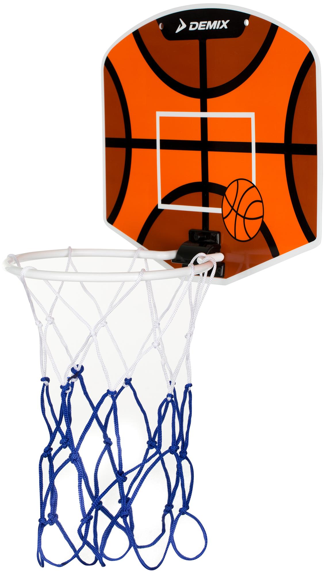 цена на Demix Набор для баскетбола Demix: мяч и щит