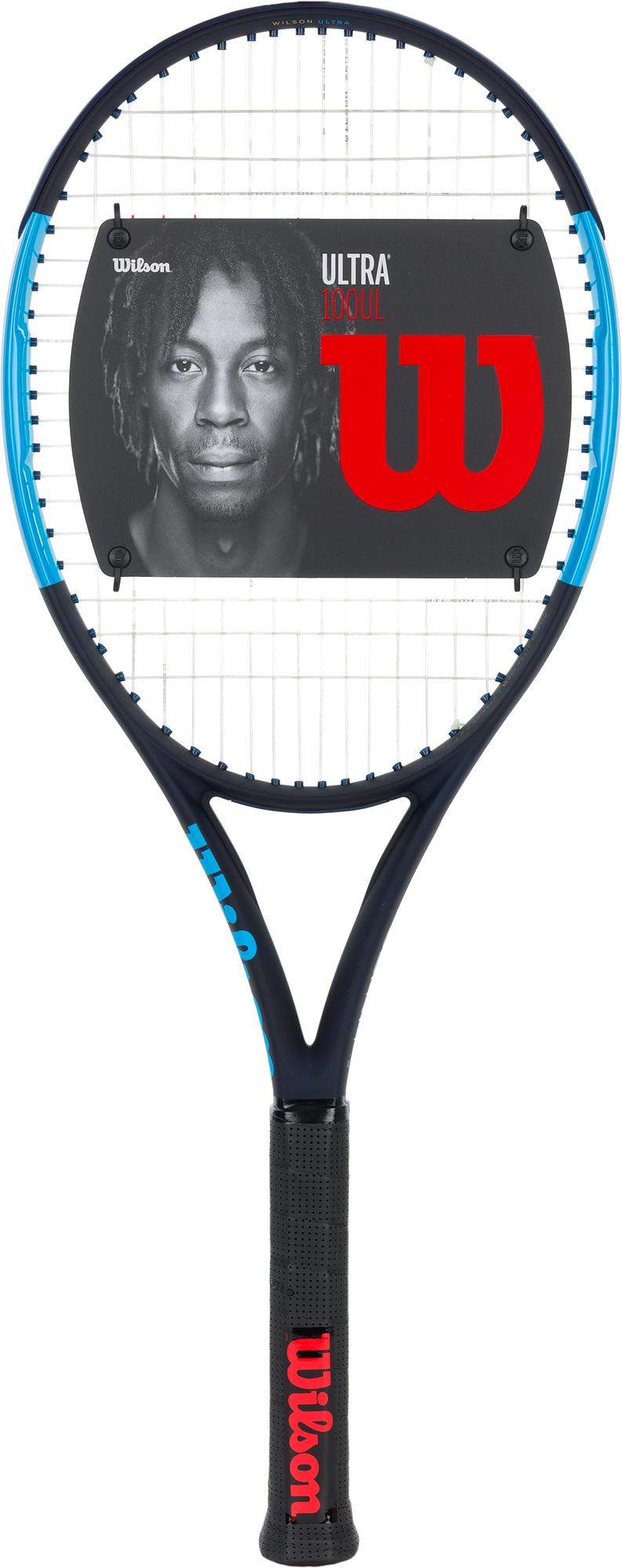 Wilson Ракетка для большого тенниса Wilson Ultra 100UL 27, размер 3 wilson ракетка для большого тенниса детская wilson roger federer 23 размер без размера
