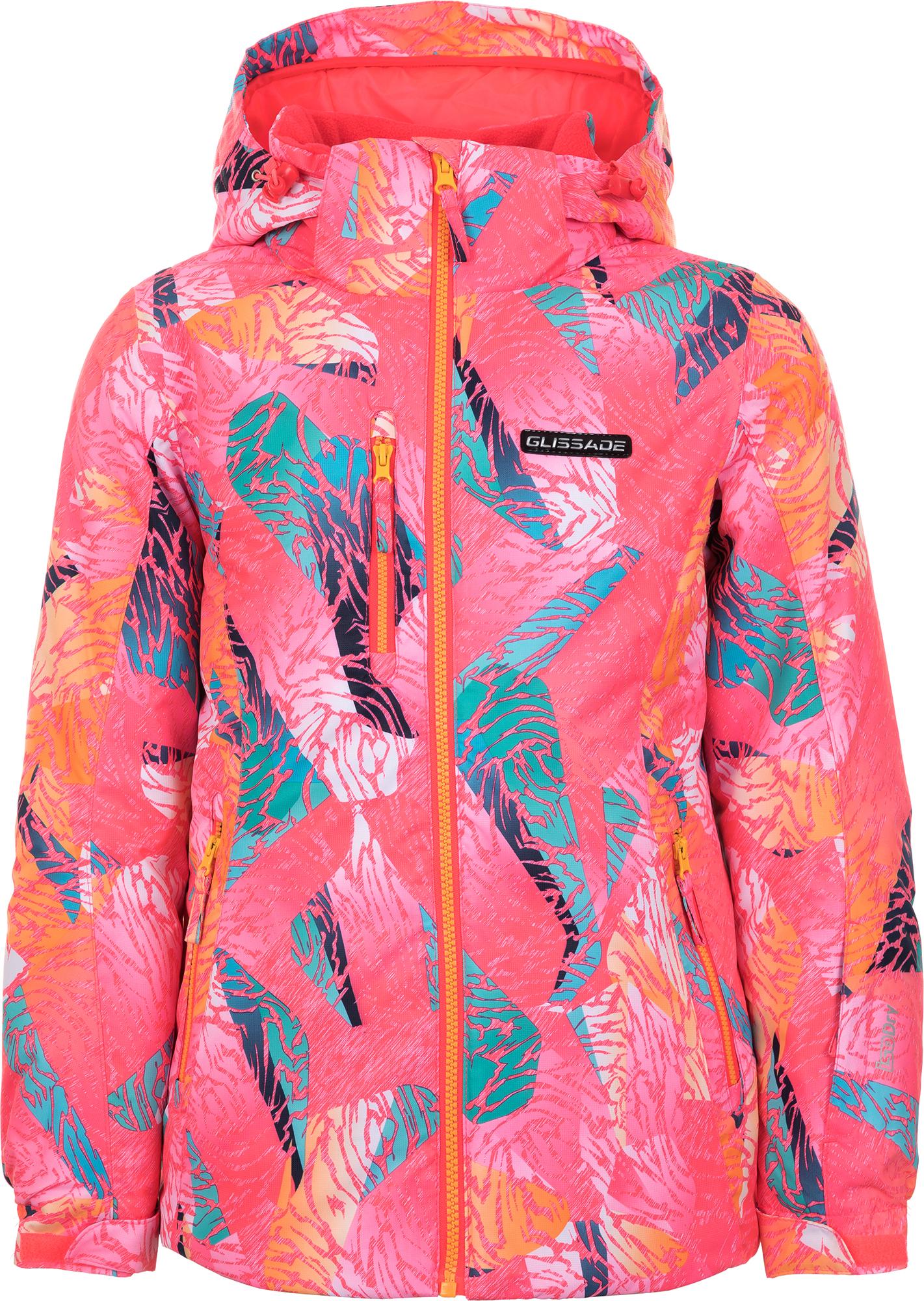 Glissade Куртка утепленная для девочек Glissade, размер 164