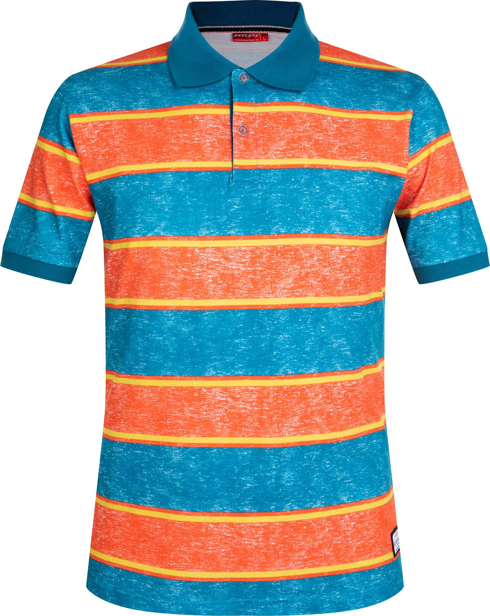 Exxtasy Поло мужское Exxtasy Kirkcaldy, размер 54-56 exxtasy шорты пляжные мужские exxtasy tracy размер 54 56