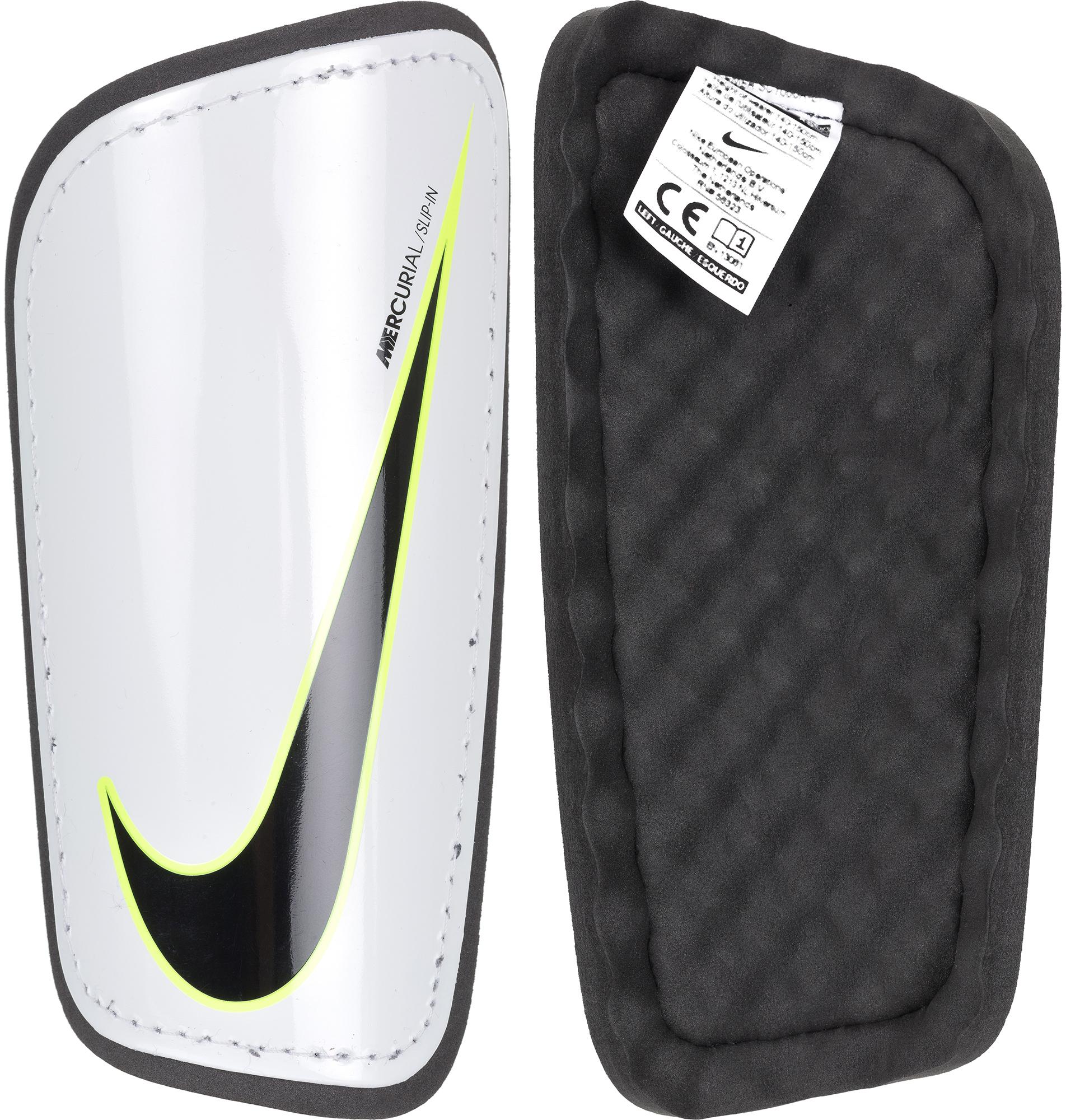 Nike Щитки футбольные Nike Mercurial Hardshell щитки футбольные mitre tungsten slip