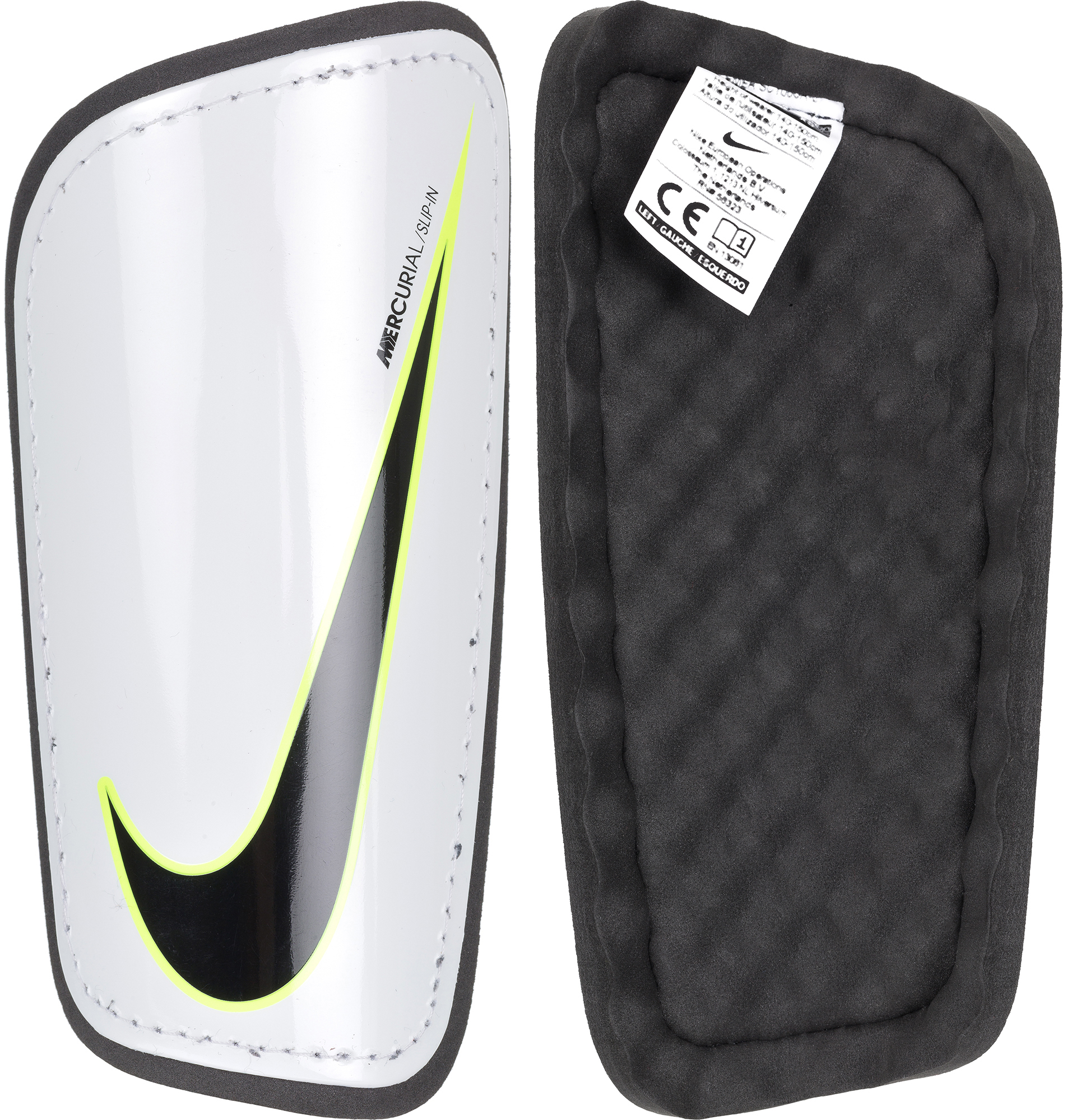 Nike Щитки футбольные Nike Mercurial Hardshell щитки nike nike ni464duufa47