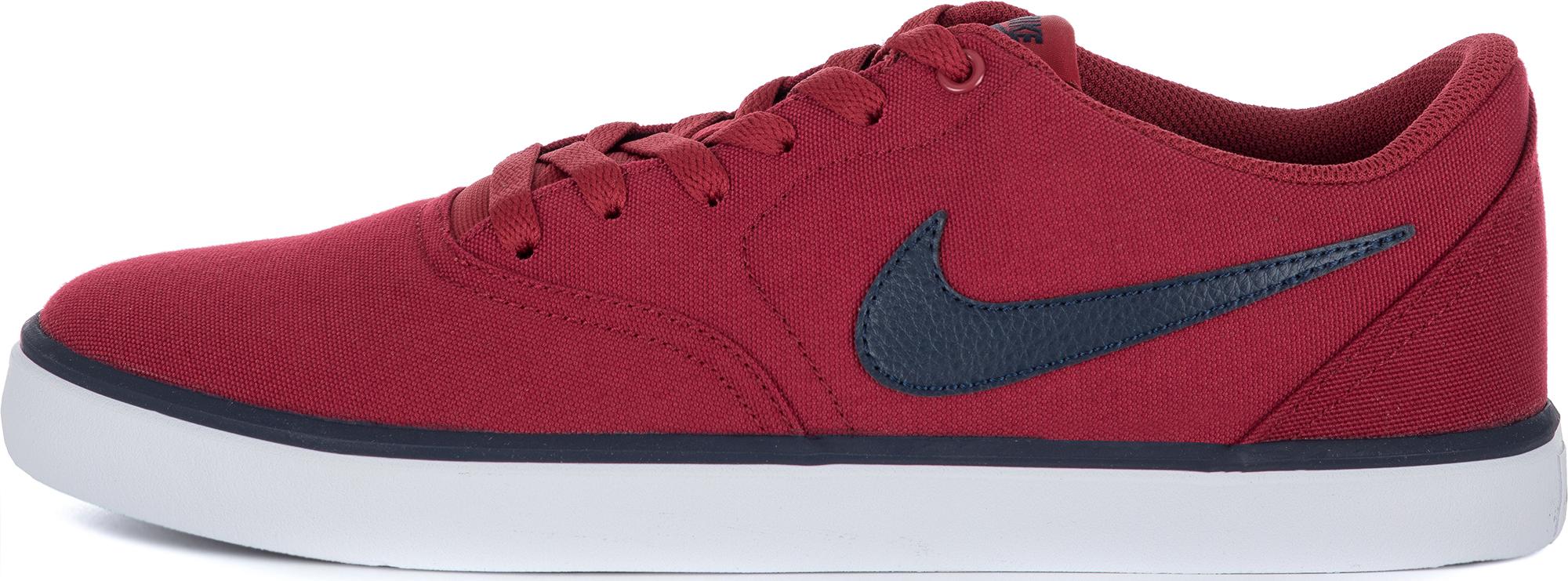 Nike Кеды мужские Nike Sb Check Solar Cnvs, размер 44 недорго, оригинальная цена