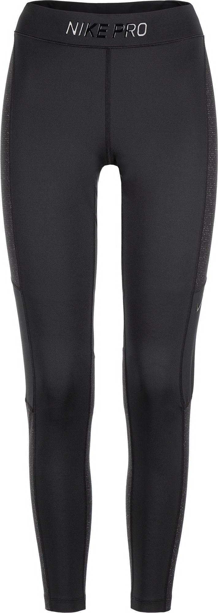 Nike Легинсы женские Pro Warm Hollywood, размер 48-50