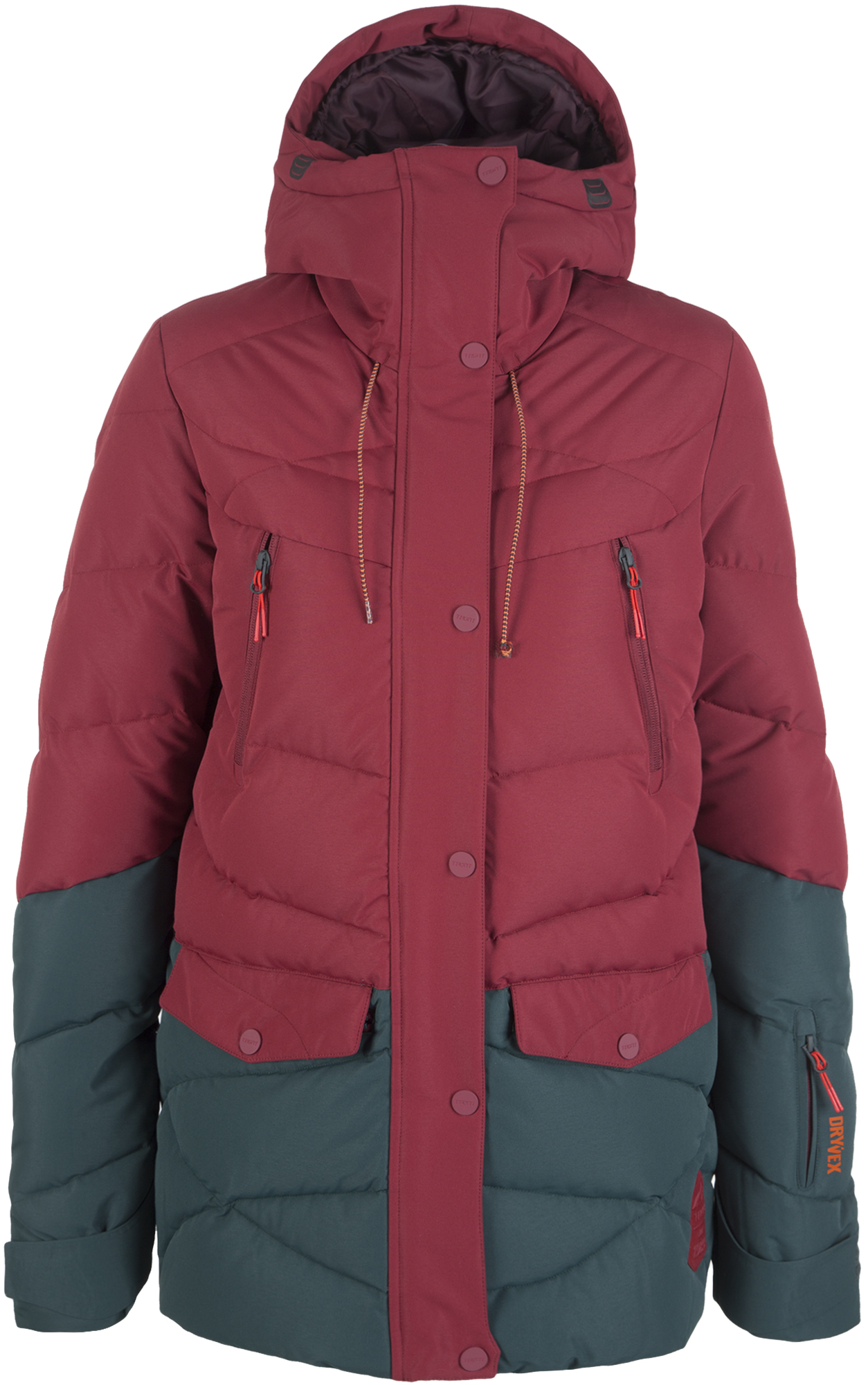 Termit Куртка пуховая женская Termit, размер 50