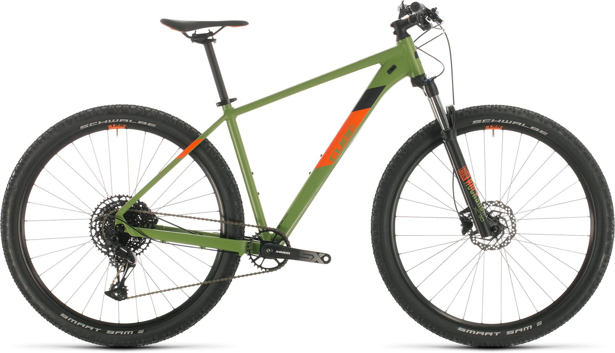Cube Велосипед горный CUBE Analog велосипед cube hyde 2018