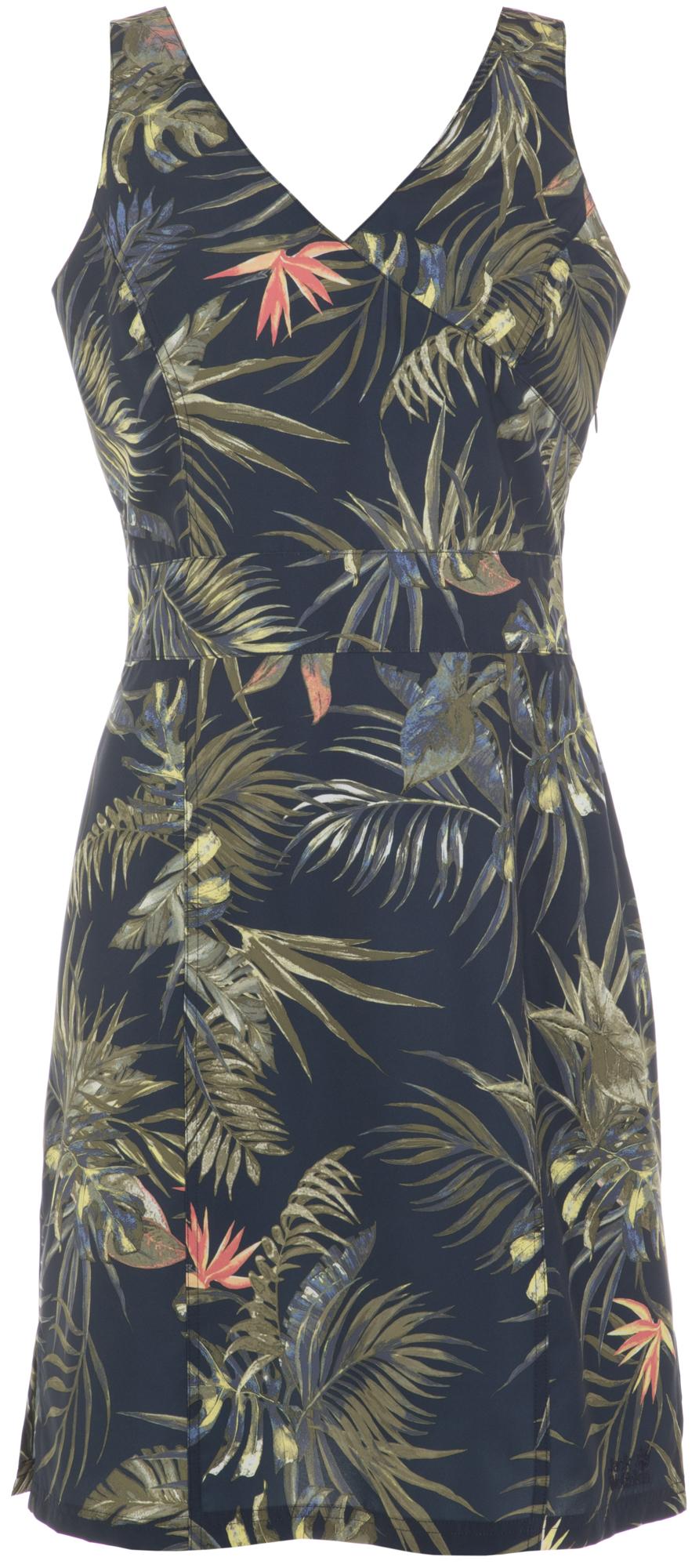 Фото - JACK WOLFSKIN Платье женское Jack Wolfskin Wahia Tropical, размер 46-48 tropical flower plus size bikini set