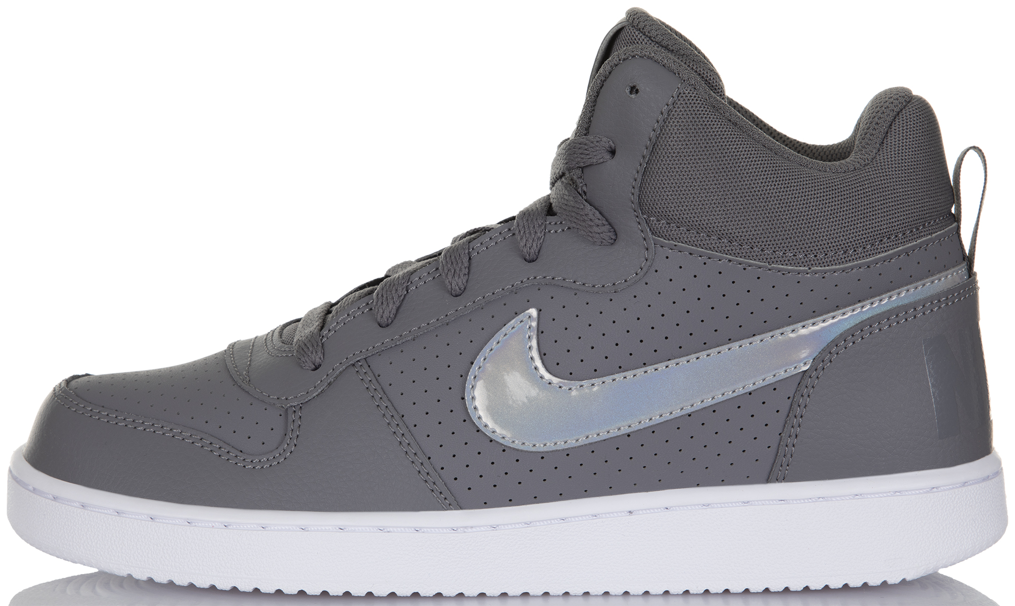 Nike Кеды для девочек Nike Court Borough Mid, размер 37,5