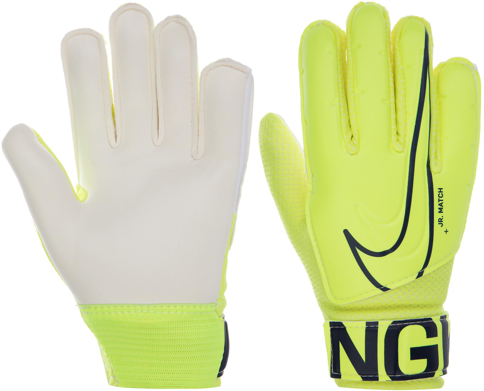 Nike Перчатки вратарские детские Nike, размер 6 nike перчатки мужские nike размер l