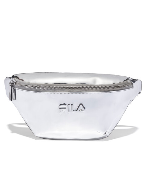 сумка спортивная fila coated bag s19aflacu01 m1 синий FILA Сумка на пояс FILA SNBN SS20