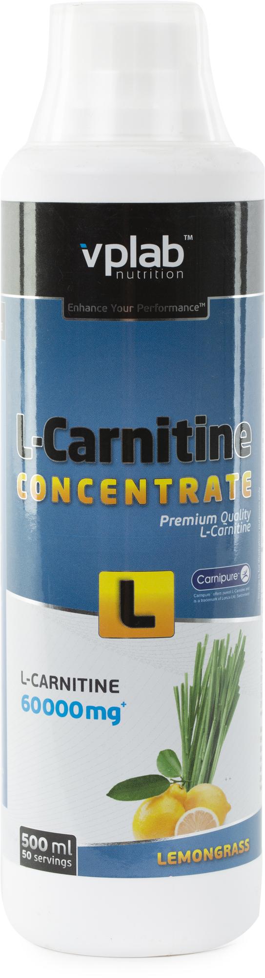 Vplab nutrition Л-карнитин nutrition, лимонный