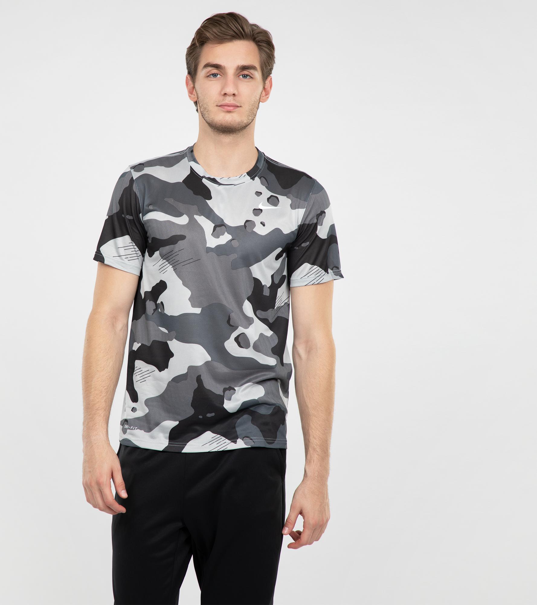 Nike Футболка мужская Nike Dry, размер 52-54 nike футболка мужская nike cool miler
