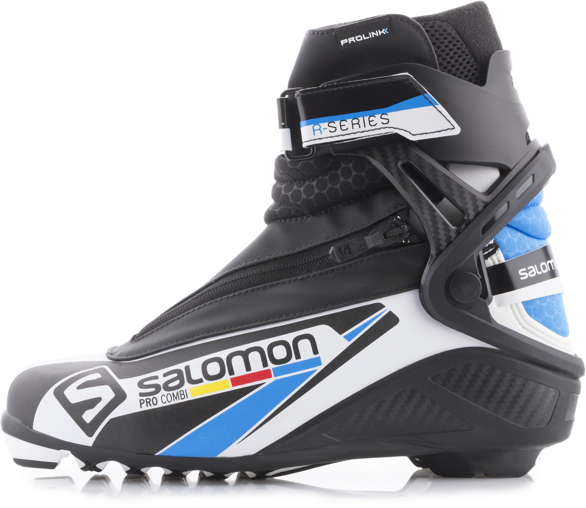 Salomon Ботинки для беговых лыж Salomon Pro Combi Prolink, размер 42 salomon ботинки для беговых лыж женские salomon siam 7 prolink