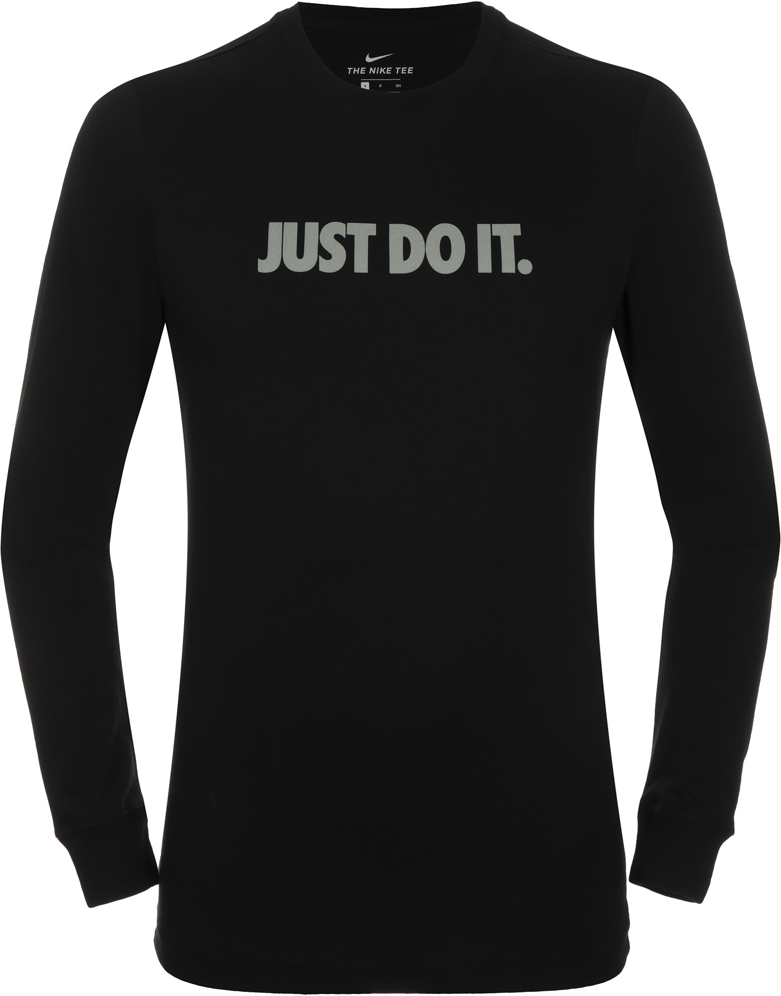 Фото - Nike Лонгслив мужской Nike Sportswear Just Do It, размер 50-52 nike свитшот мужской nike sportswear just do it размер 52 54